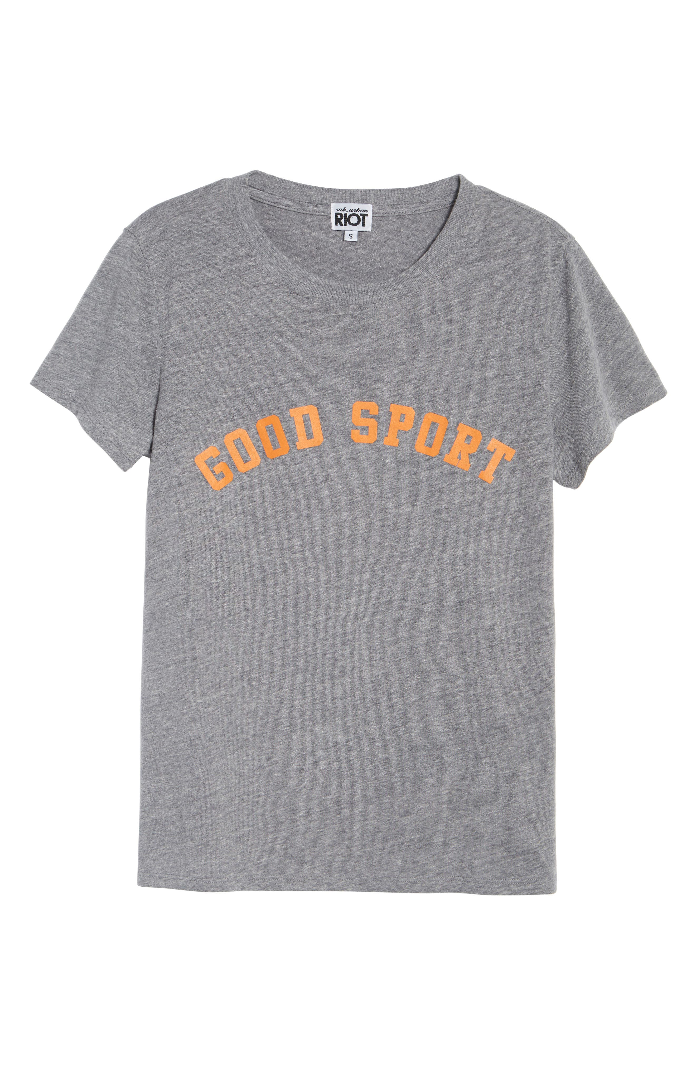 Good Sport Graphic Tee,                             Alternate thumbnail 6, color,                             050