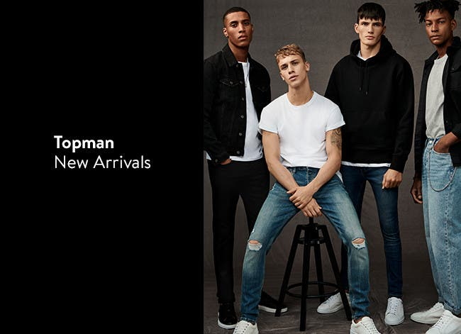 Topman new arrivals, trendy clothes for men.