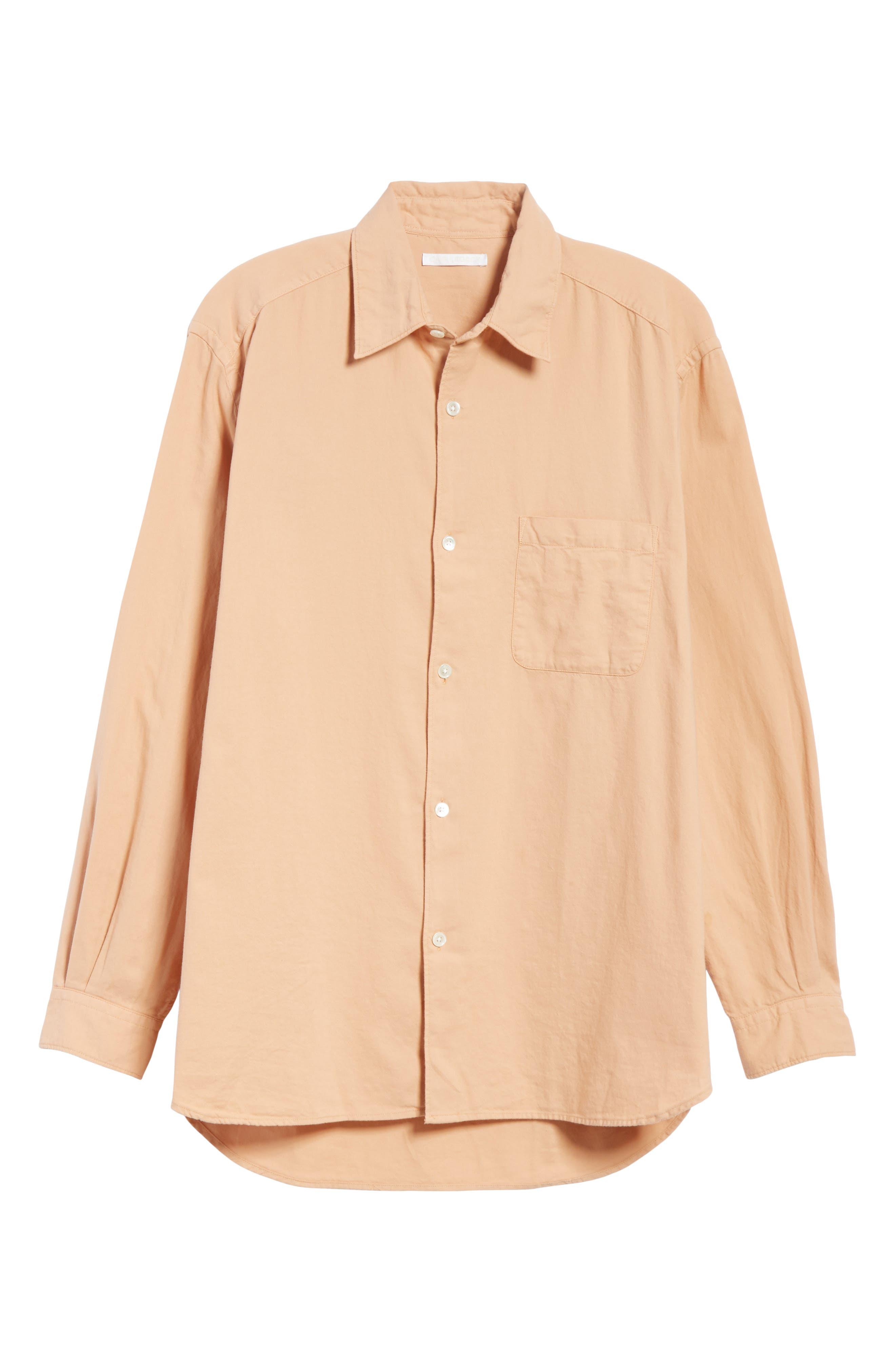Oversize Basketweave Shirt,                             Alternate thumbnail 6, color,                             680