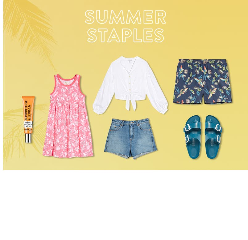 Summer staples under $100.