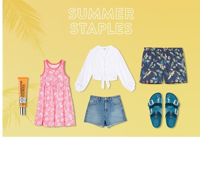 Summer staples under $100.