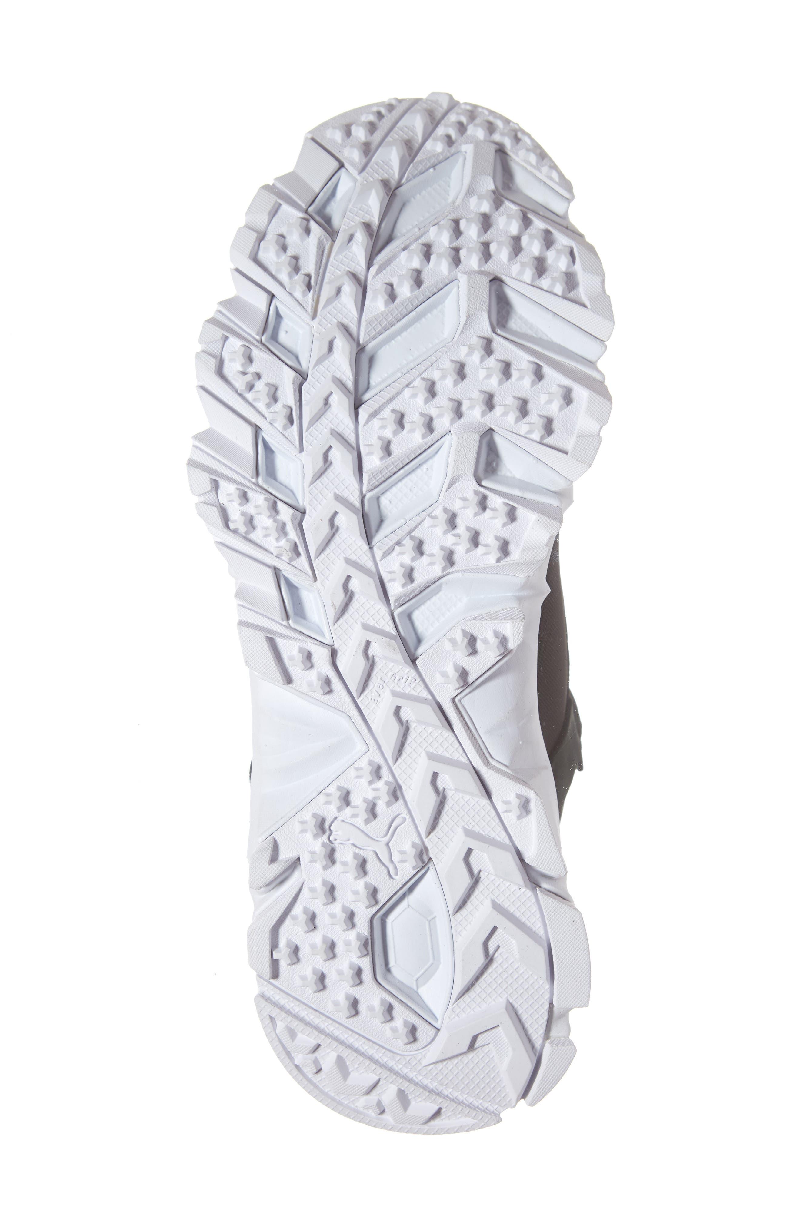 Trailfox Sneaker,                             Alternate thumbnail 6, color,                             BLACK/ WHITE