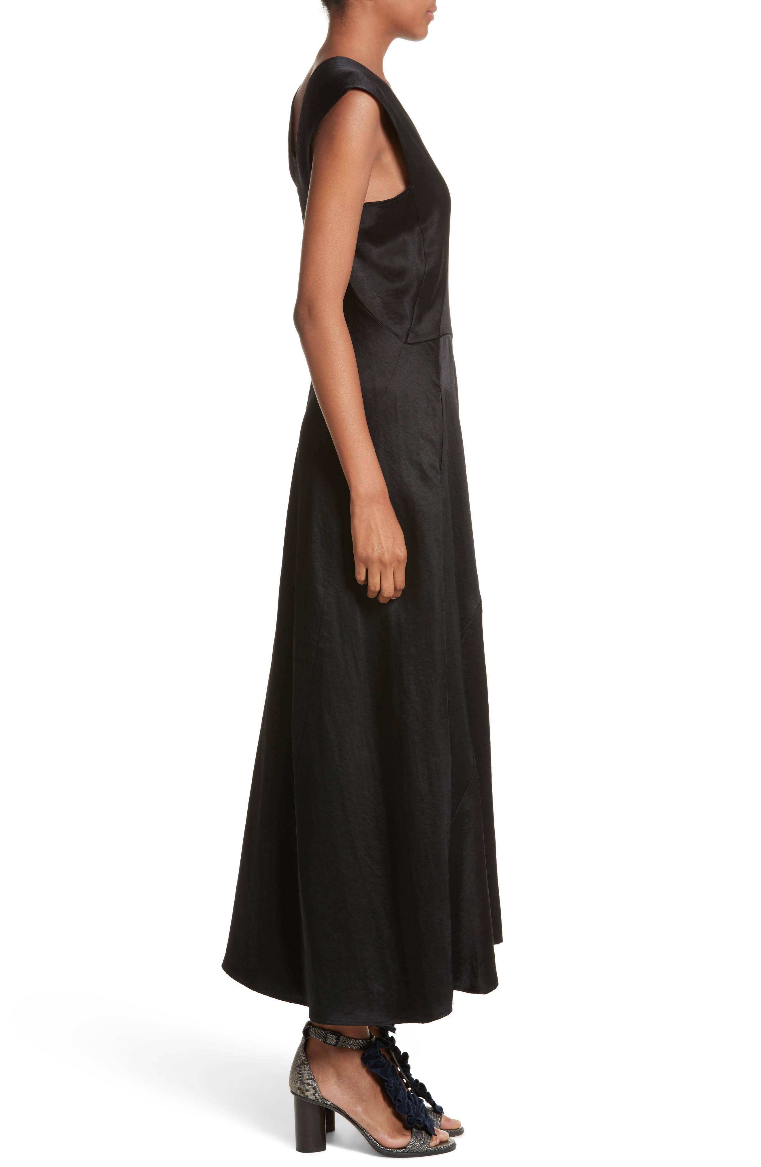 Eve Mosa Midi Dress,                             Alternate thumbnail 3, color,
