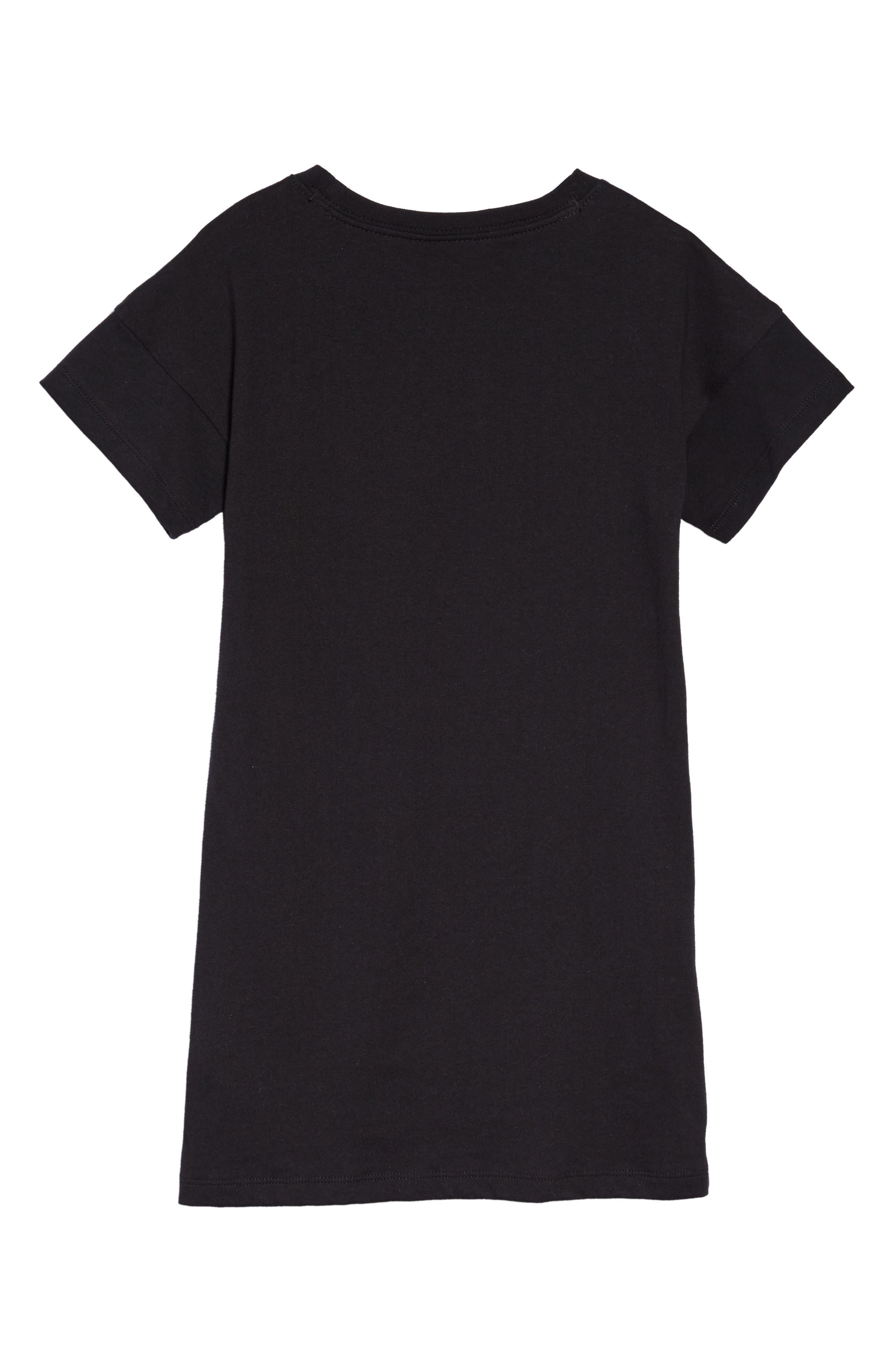 Futura T-Shirt Dress,                             Alternate thumbnail 2, color,                             004