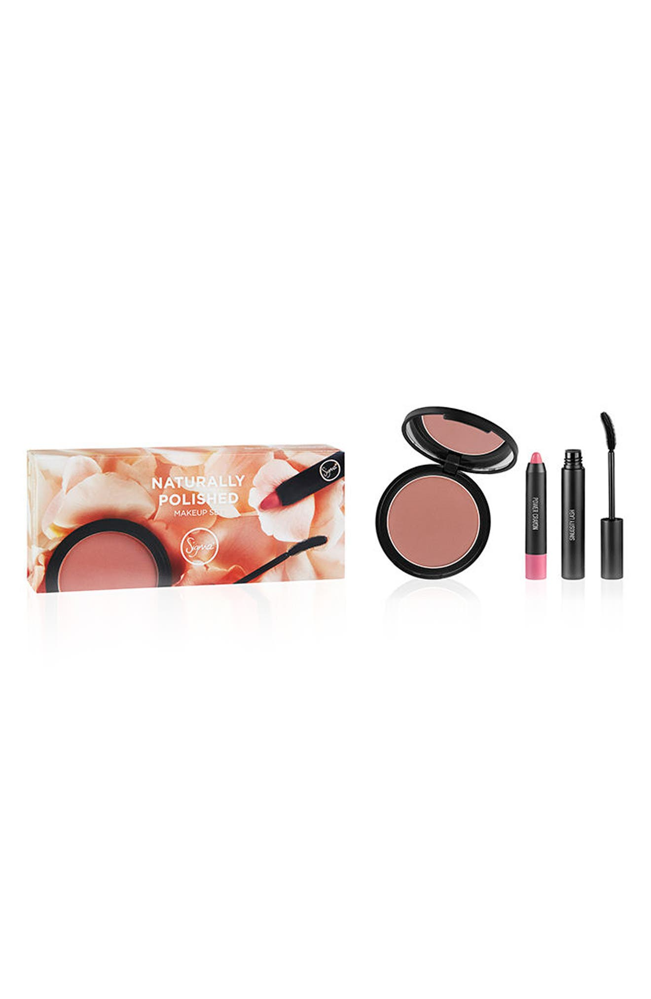 Naturally Polished Makeup Set,                             Alternate thumbnail 2, color,                             NO COLOR