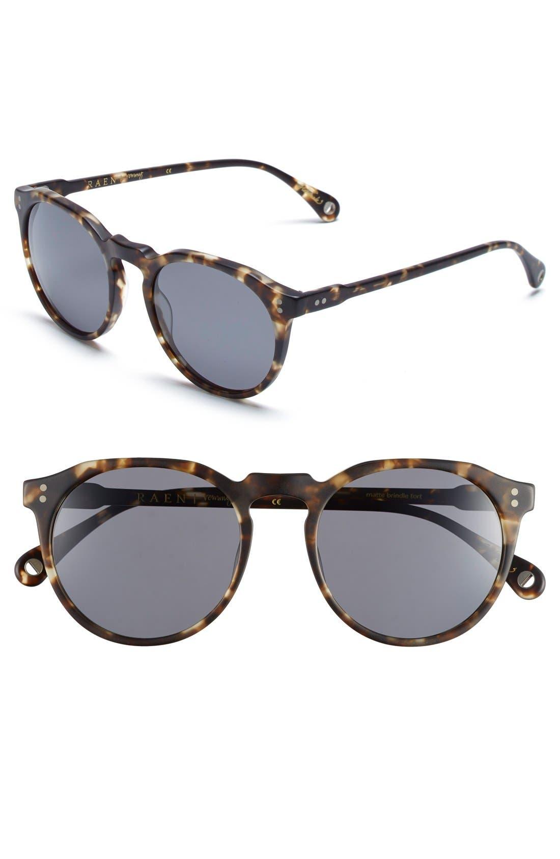 'Remmy' 52mm Polarized Sunglasses,                             Main thumbnail 2, color,