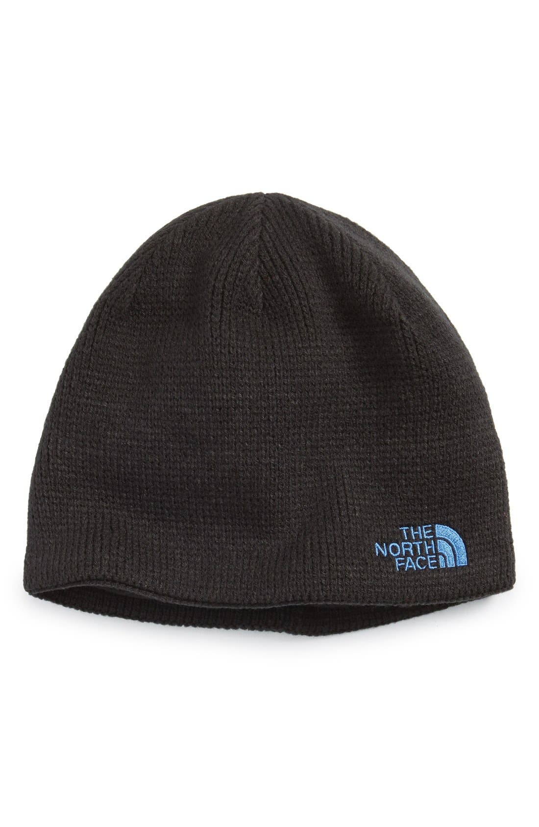 'Bones' Microfleece Beanie,                             Main thumbnail 3, color,