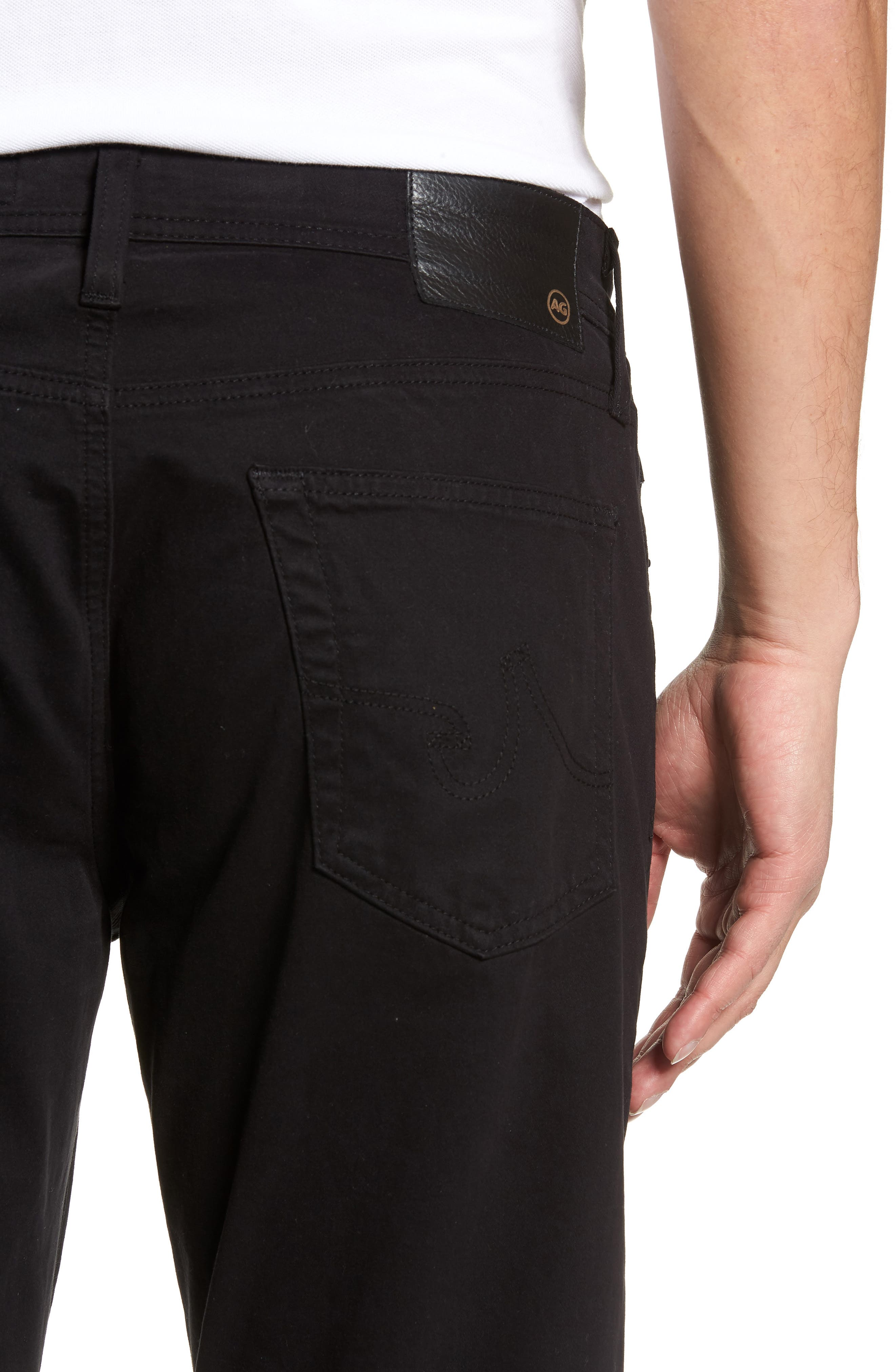 Graduate SUD Slim Straight Leg Pants,                             Alternate thumbnail 5, color,                             BLACK