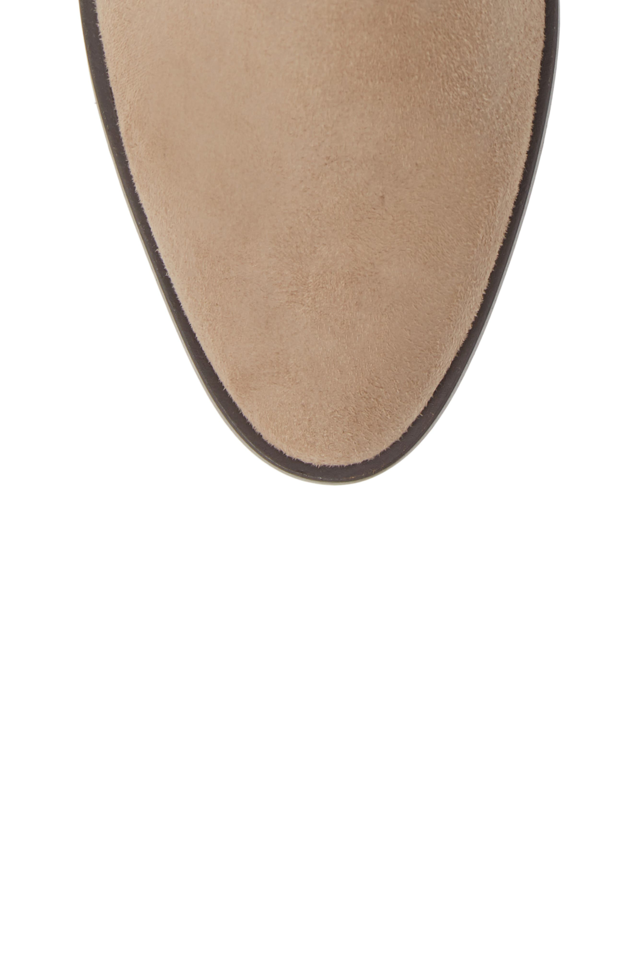 Crash Bootie,                             Alternate thumbnail 5, color,                             NATURAL BURNISHED MICRO