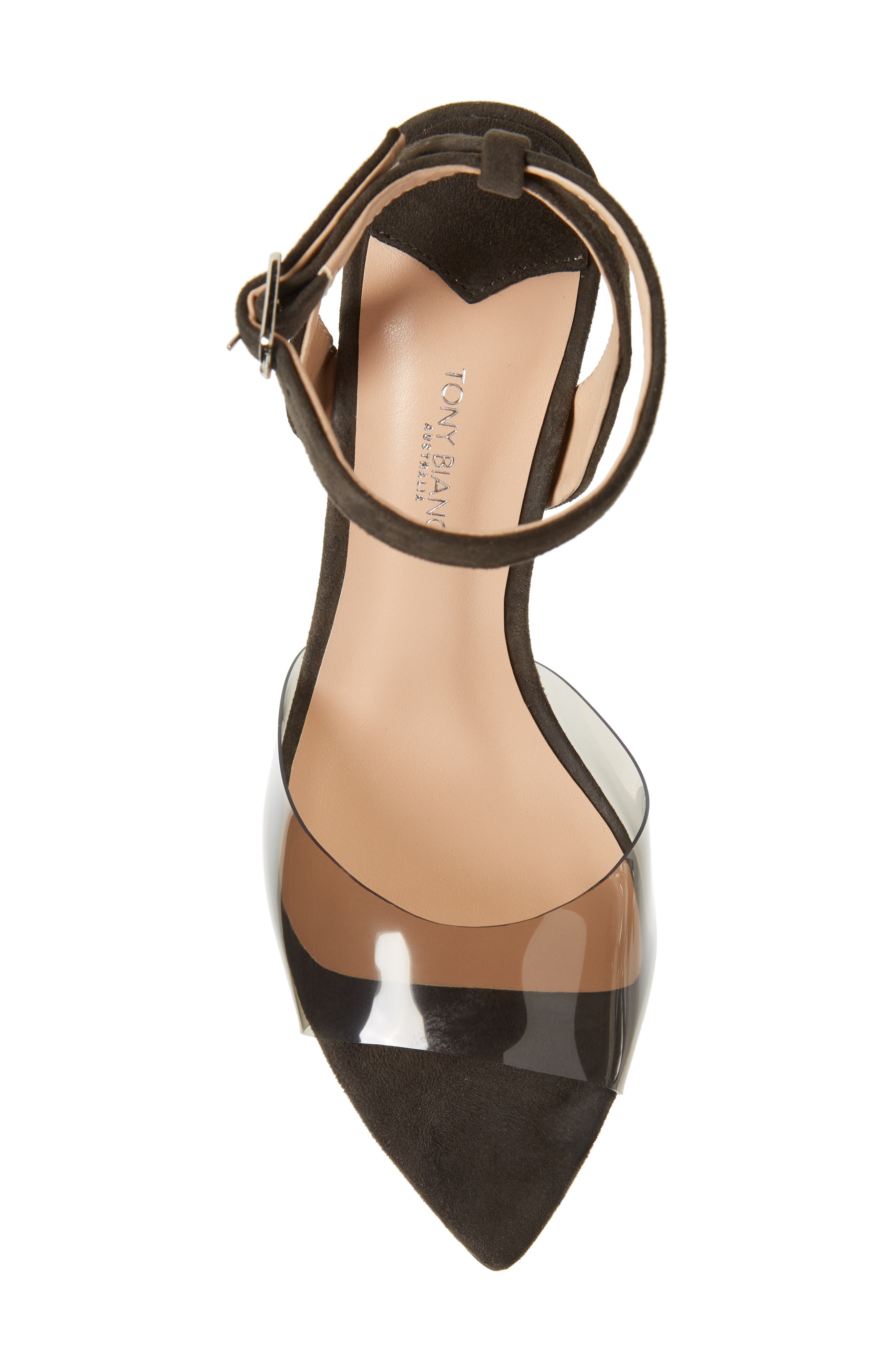 TONY BIANCO,                             Maxime Sandal,                             Alternate thumbnail 5, color,                             SMOKE / LICORICE SUEDE