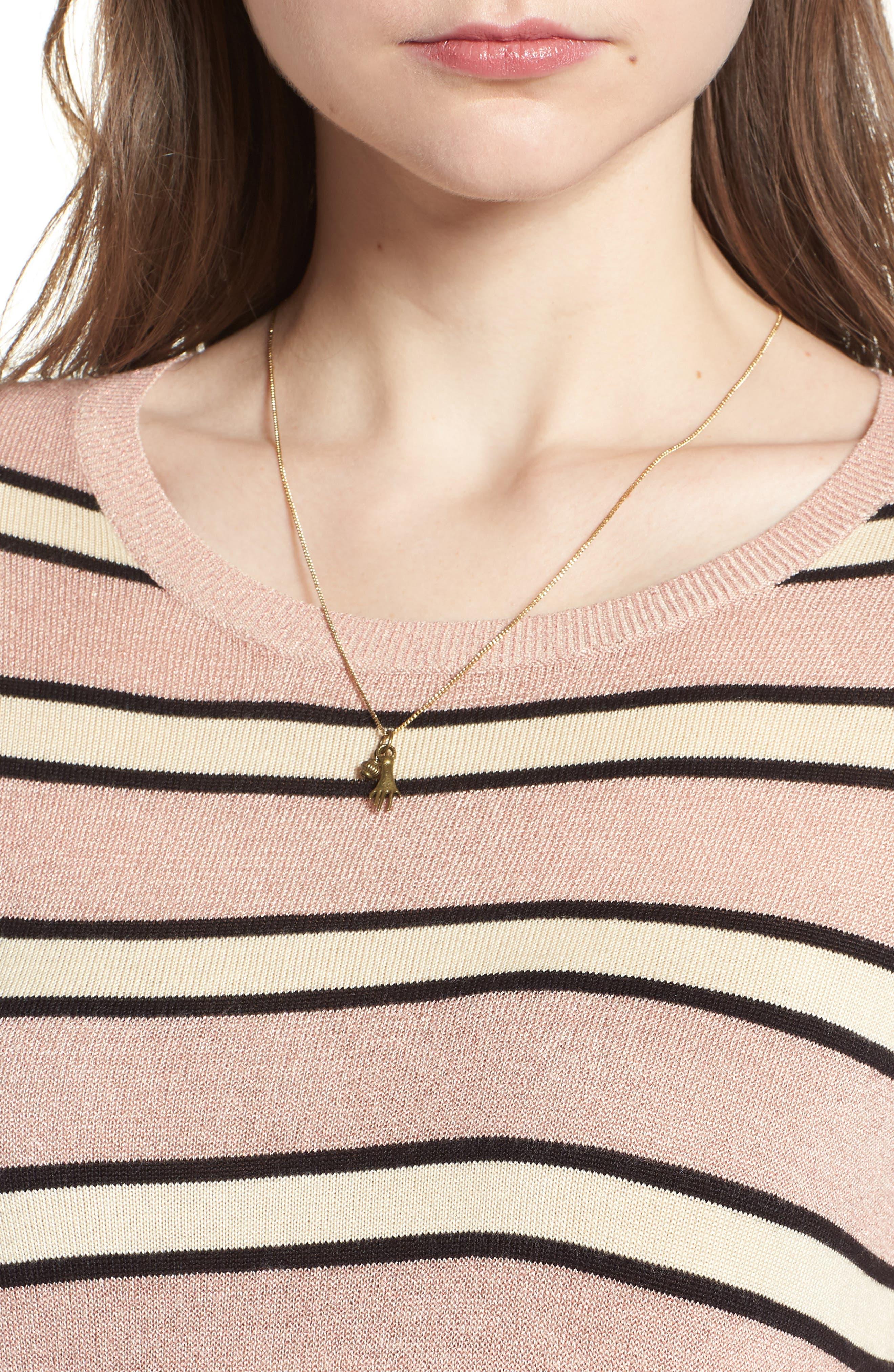 Stripe Sweater,                             Alternate thumbnail 4, color,                             650