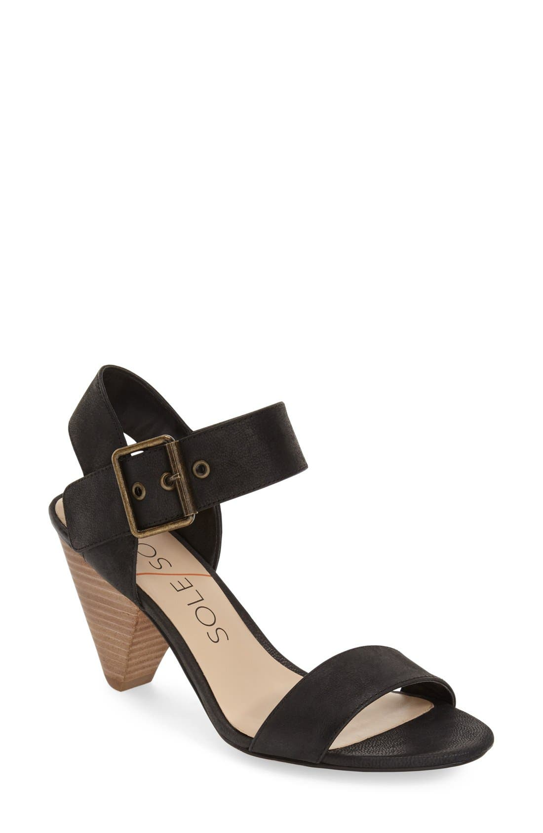'Missy' Sandal,                         Main,                         color, 001
