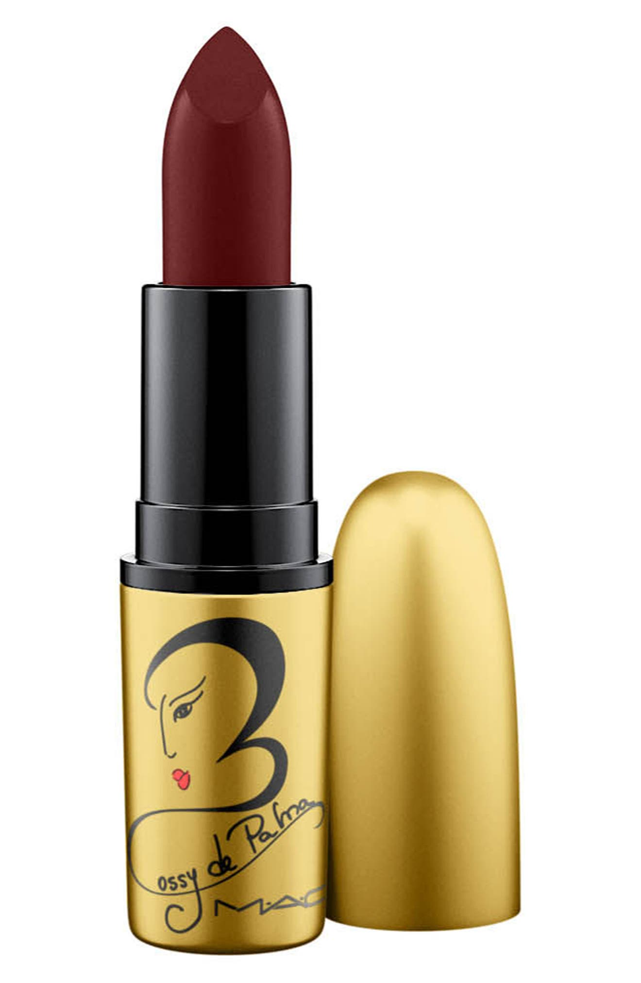 MAC Rossy de Palma Lipstick,                             Main thumbnail 1, color,                             500