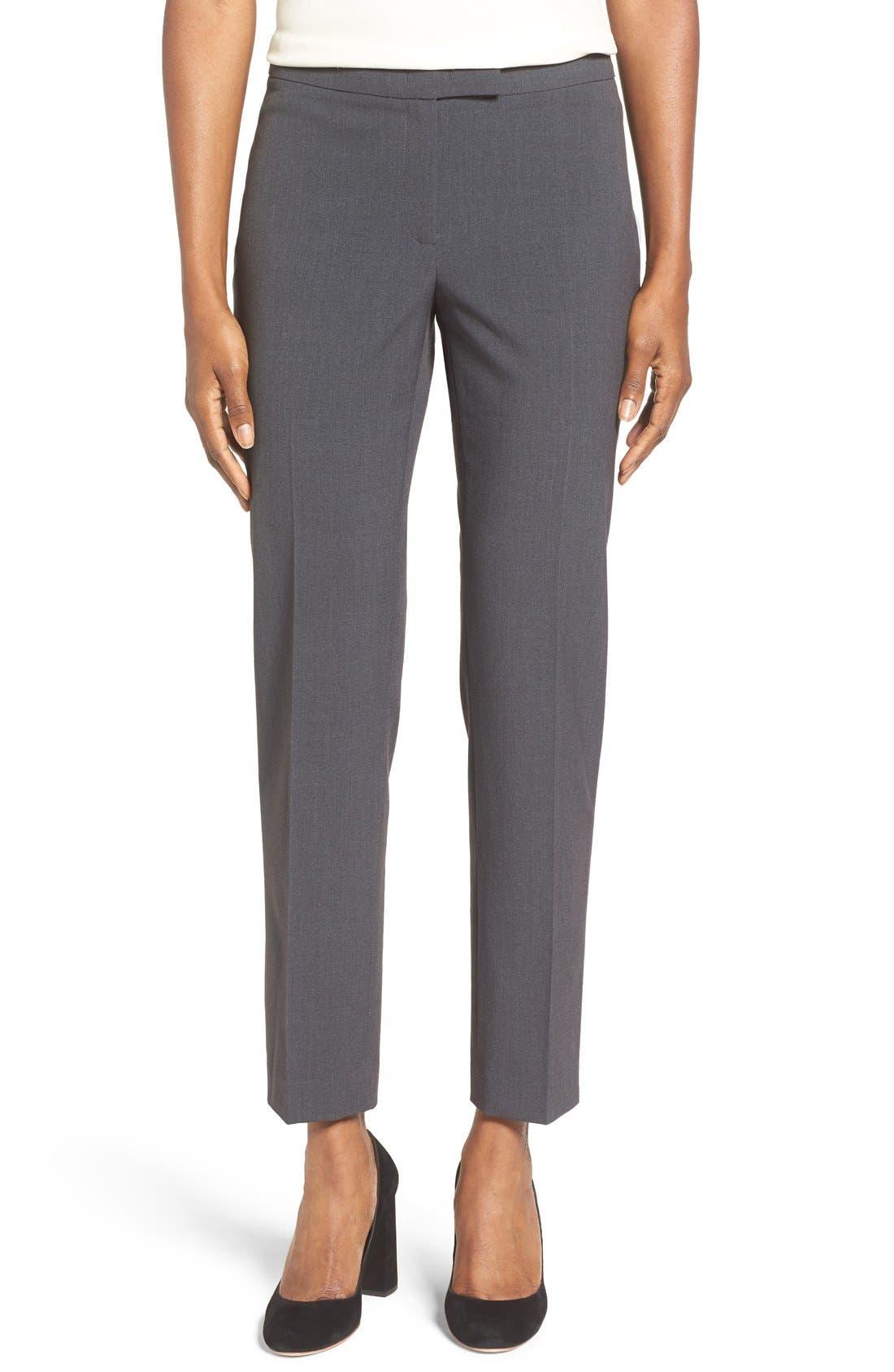 Slim Suit Pants,                             Main thumbnail 1, color,                             NEW GREY
