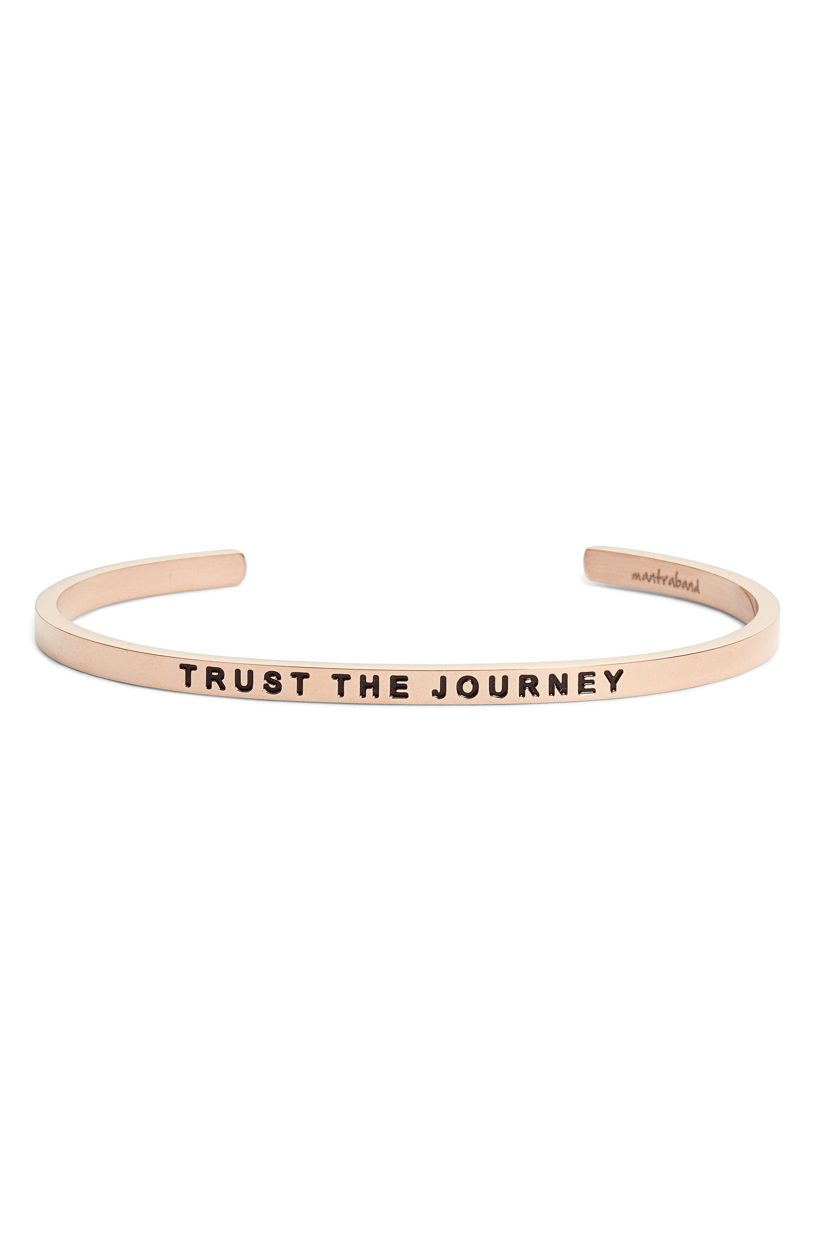 Trust the Journey Cuff,                             Main thumbnail 2, color,