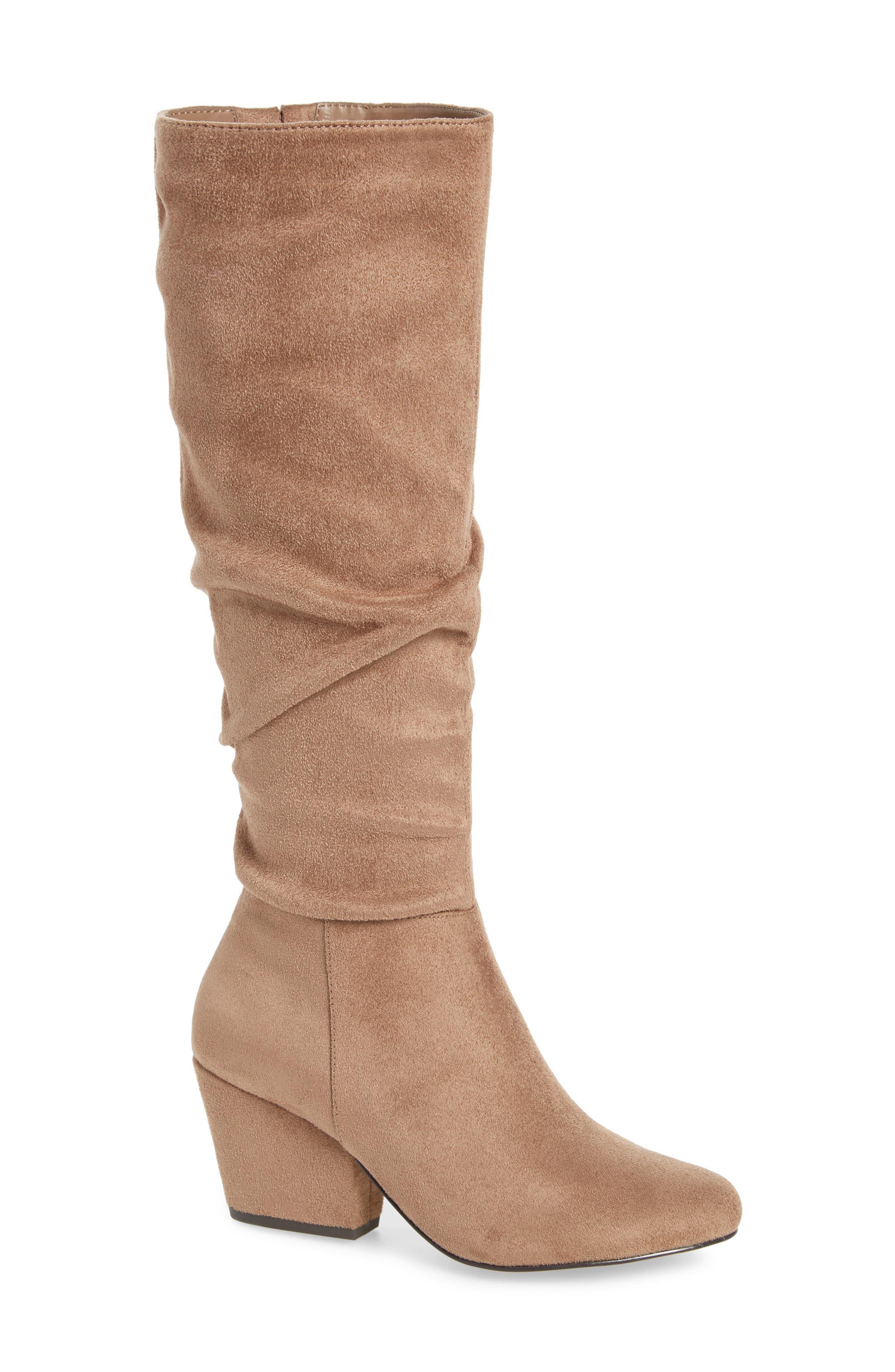 Bella Vita Karen Ii Knee High Slouch Boot, Beige