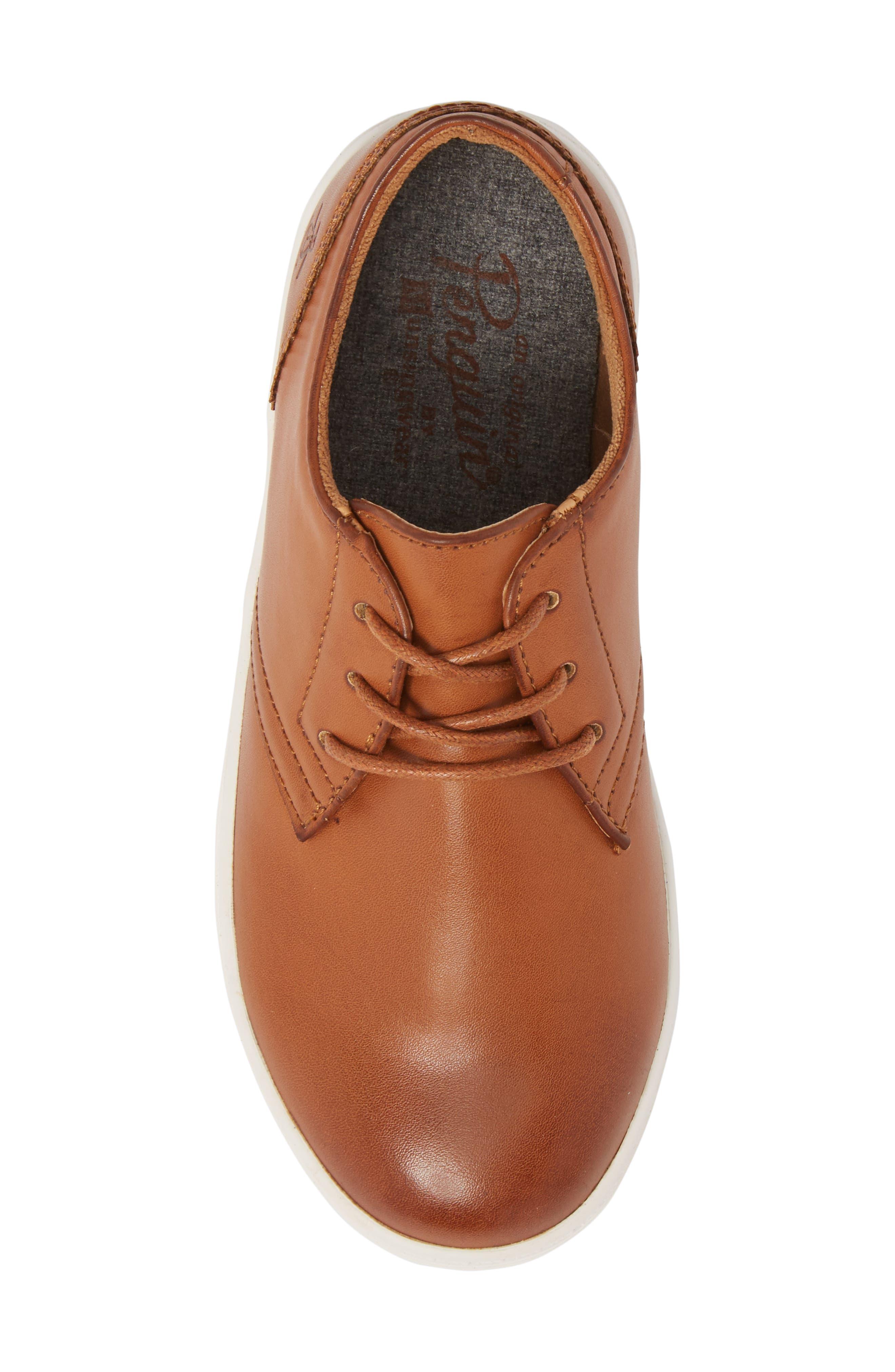 Freeland Sneaker,                             Alternate thumbnail 5, color,                             COGNAC
