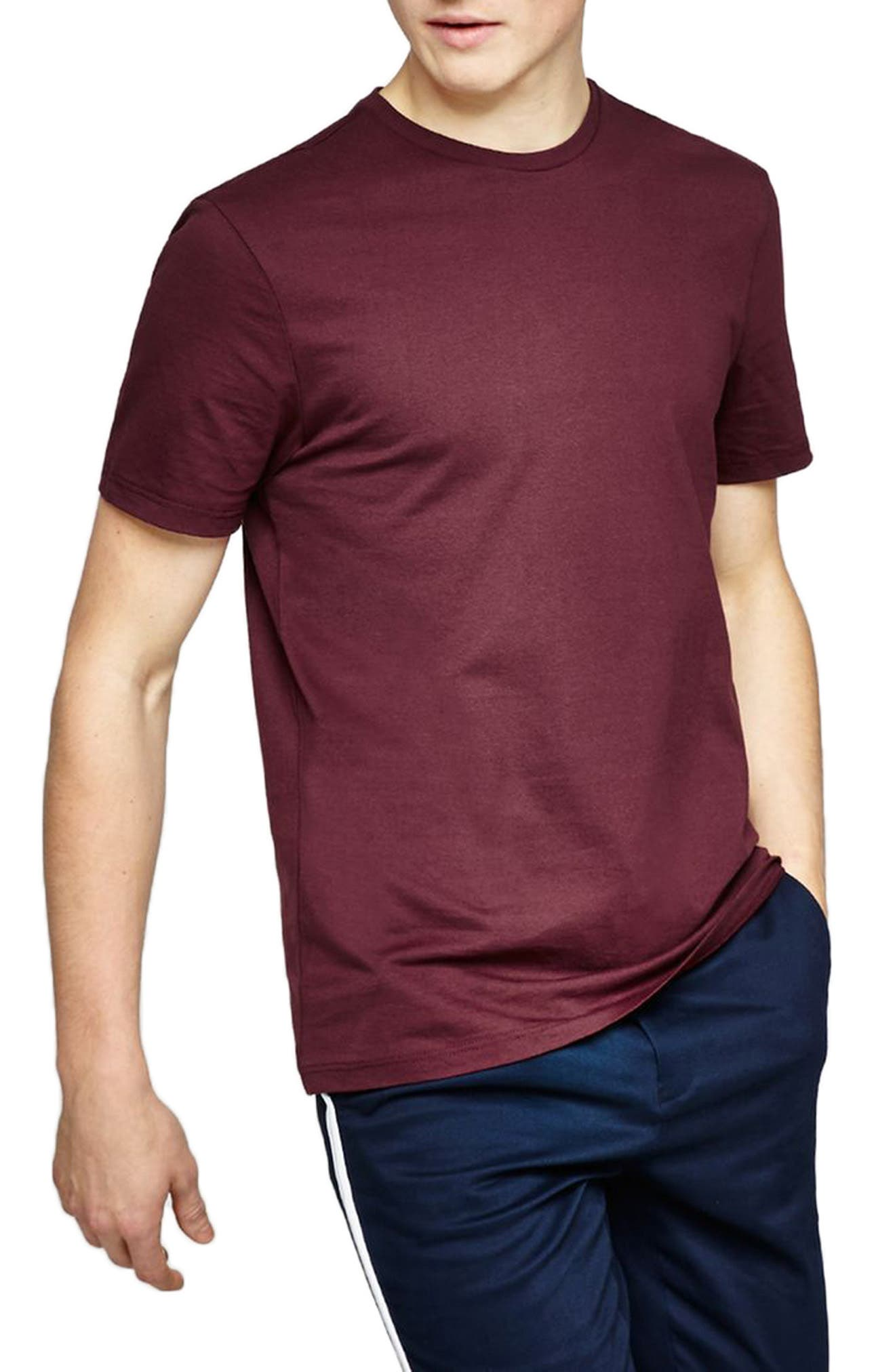 Slim Fit Crewneck T-Shirt,                             Main thumbnail 21, color,