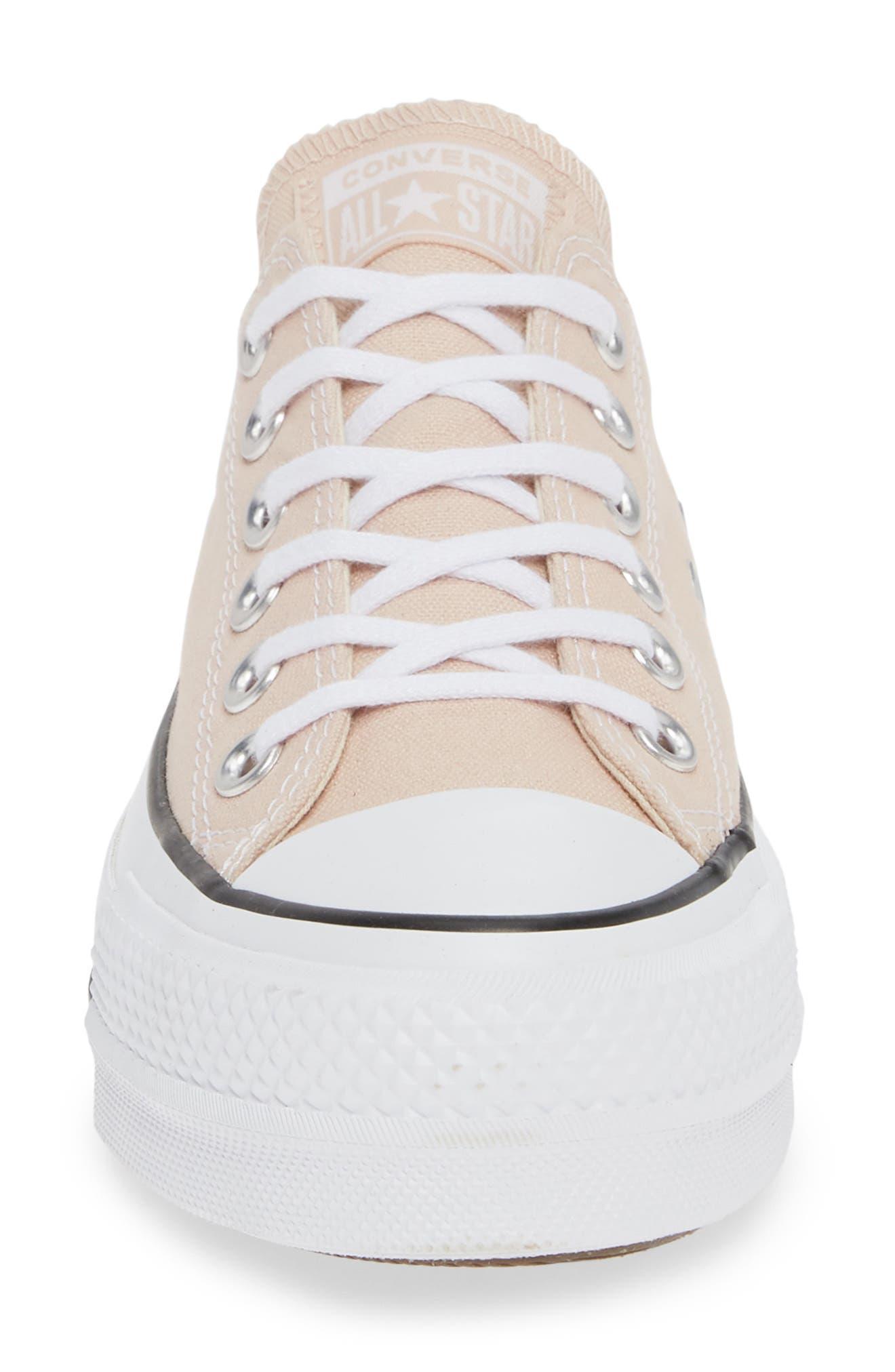 CONVERSE,                             Chuck Taylor<sup>®</sup> All Star<sup>®</sup> Platform Sneaker,                             Alternate thumbnail 4, color,                             650