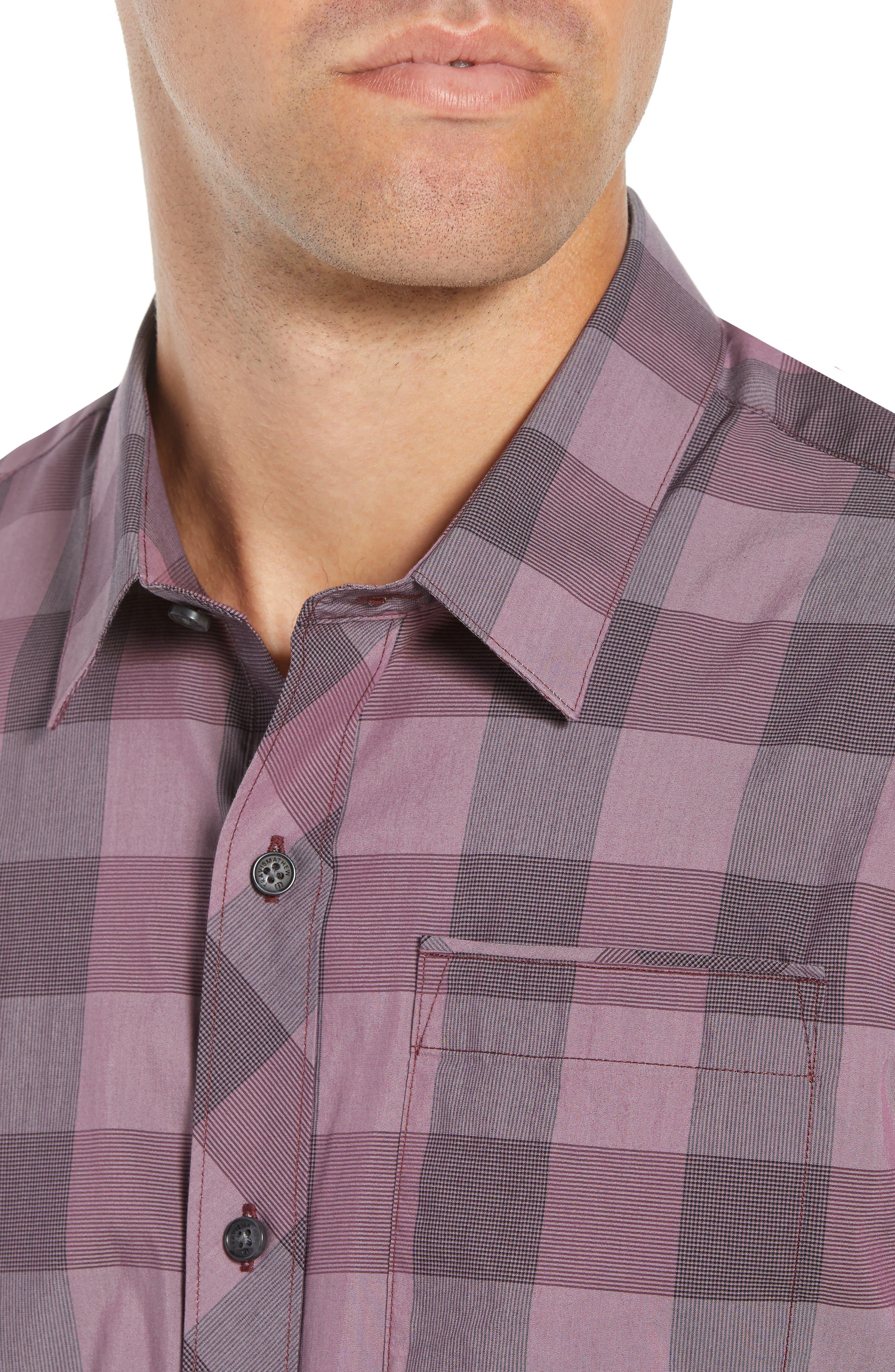 Buffalo Regular Fit Sport Shirt,                             Alternate thumbnail 2, color,                             HEATHER EGGPLANT