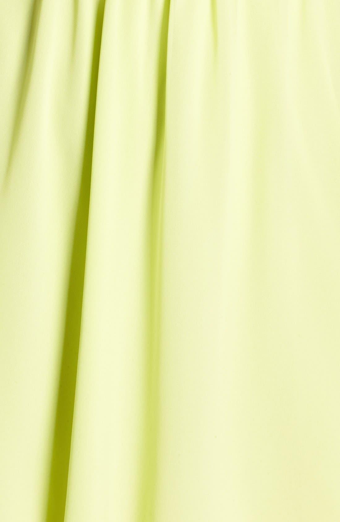 Blouson Chiffon Skater Dress,                             Alternate thumbnail 227, color,