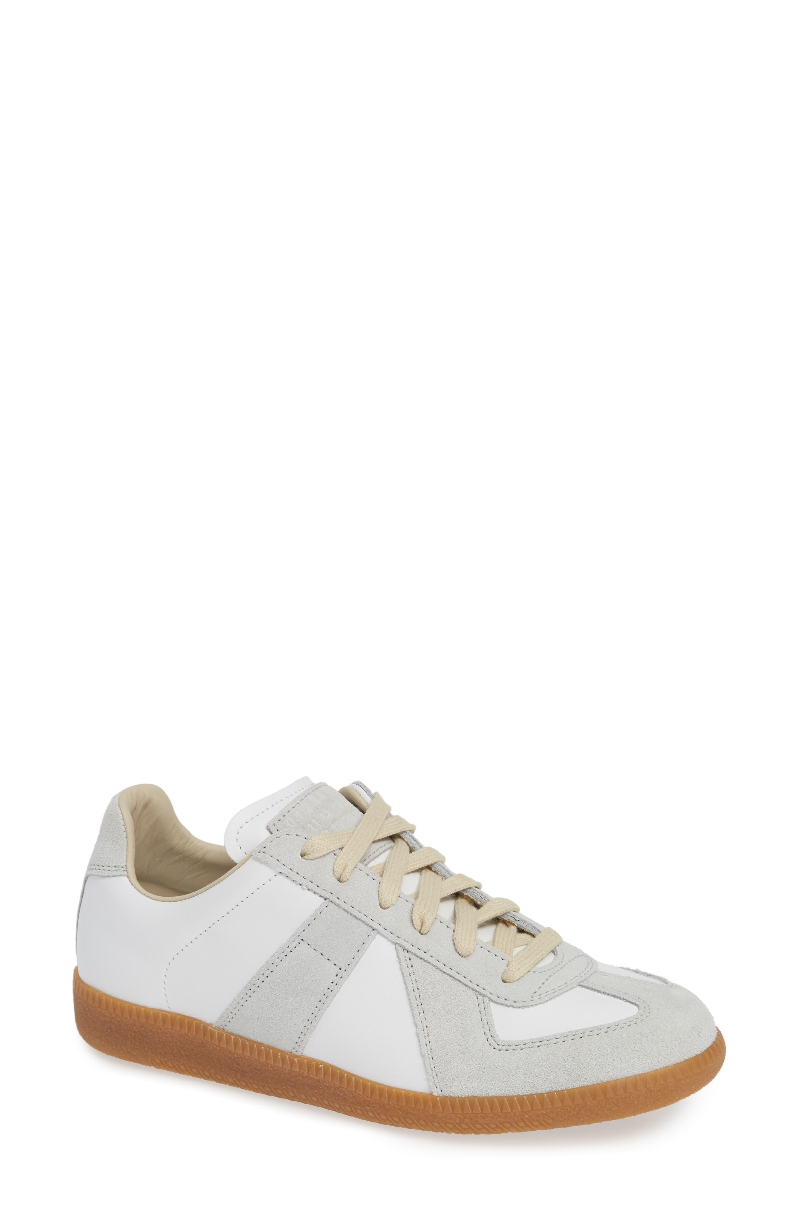 Replica Sneaker, Main, color, WHITE