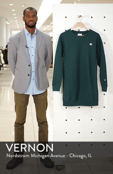 Reverse Weave<sup>®</sup> Sweatshirt Dress, sales video thumbnail