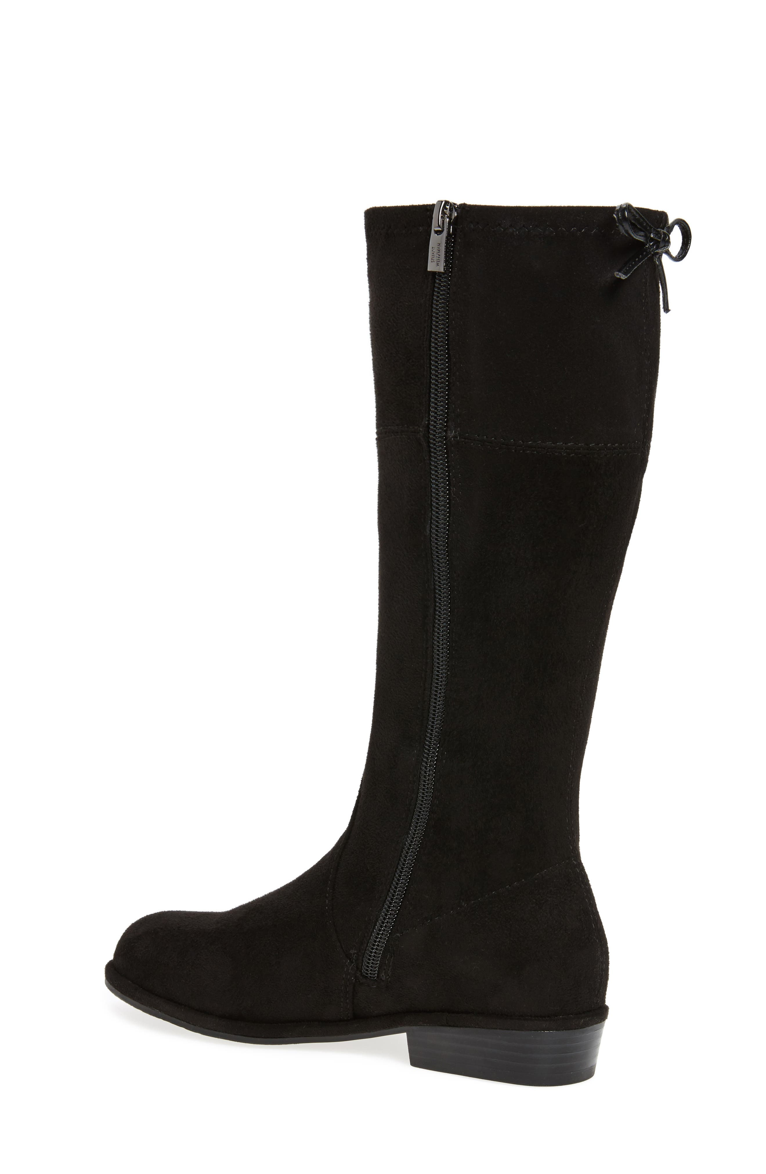 Lowland Bow Riding Boot,                             Alternate thumbnail 3, color,