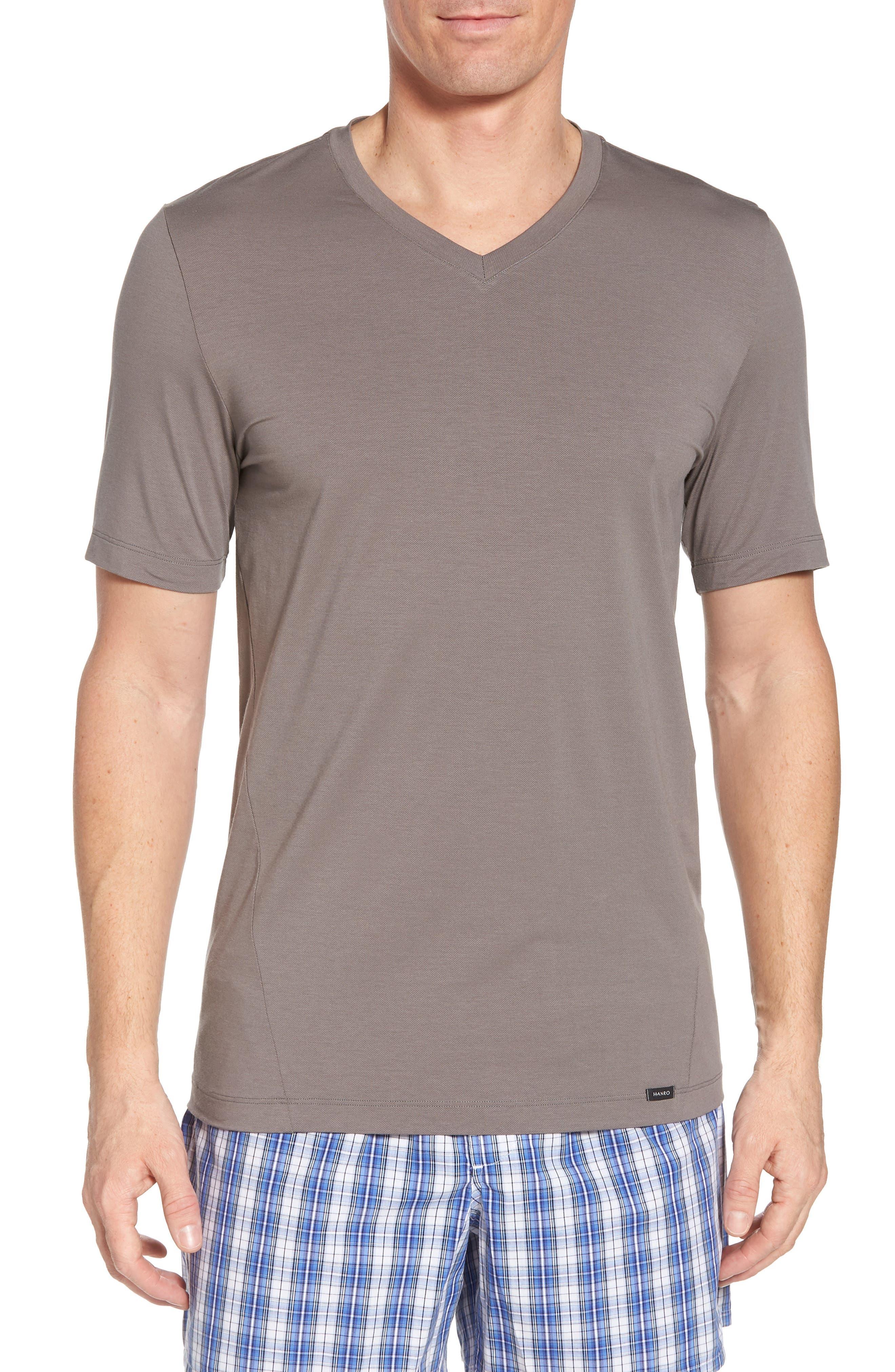 Liam V-Neck T-Shirt,                         Main,                         color, MOONROCK