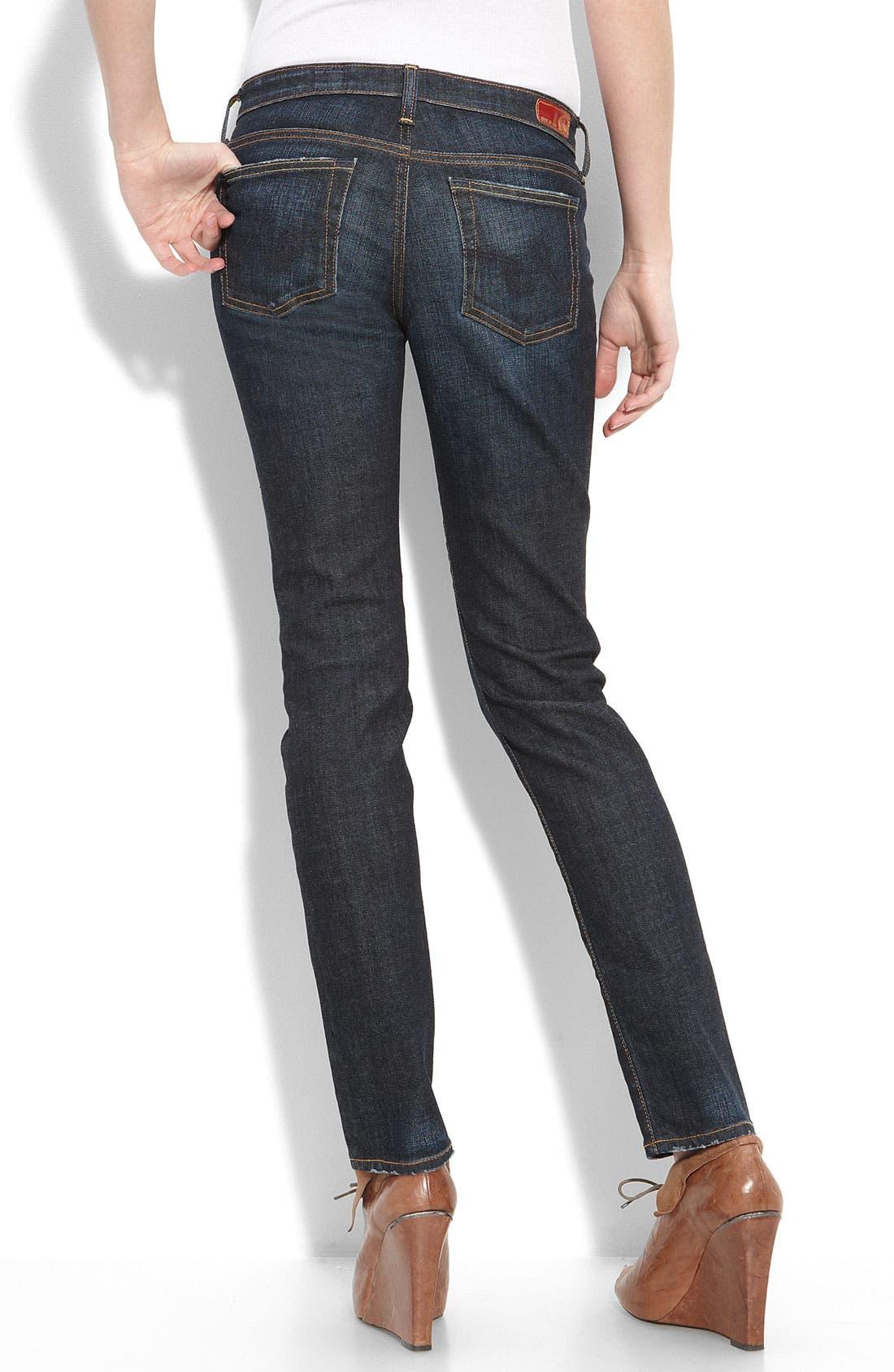 'The Stilt' Cigarette Leg Jeans,                             Alternate thumbnail 9, color,