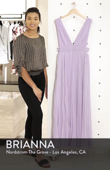 Fame & Partners The Peyton Pleated Gown, sales video thumbnail