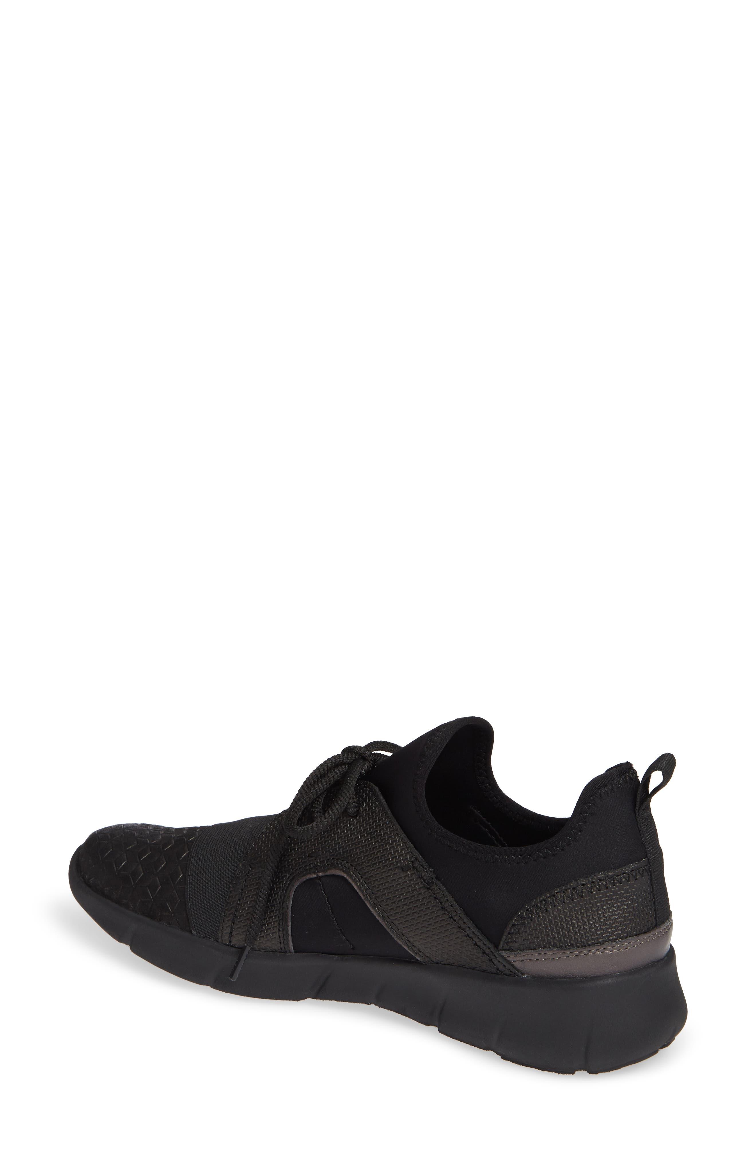 Transfer Sneaker,                             Alternate thumbnail 2, color,                             BLACK