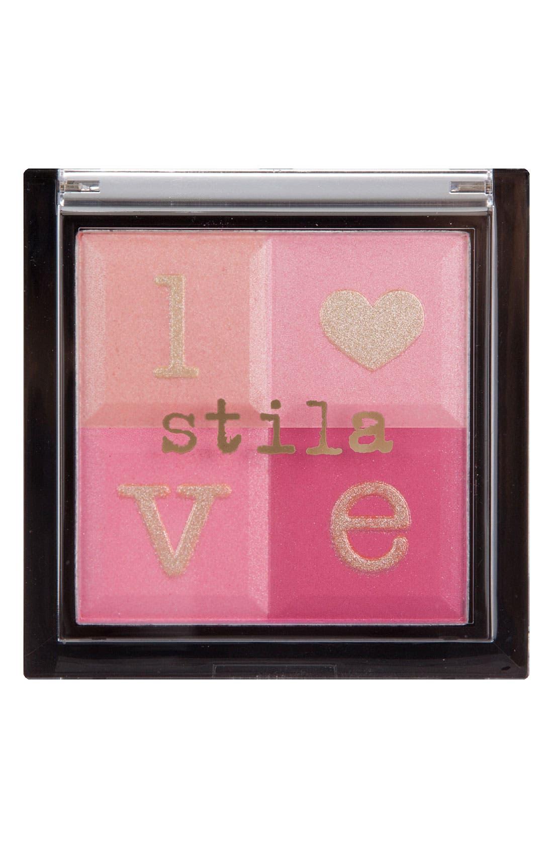 'valentine's day' cheek palette,                         Main,                         color, 650