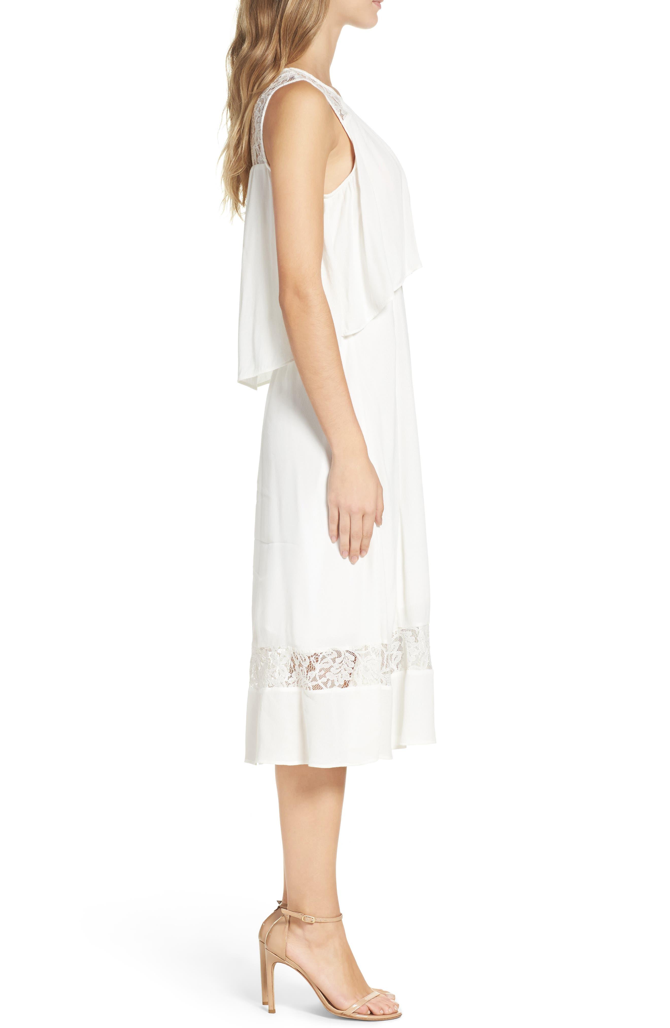 BB Dakota Erin Popover Dress,                             Alternate thumbnail 3, color,                             402