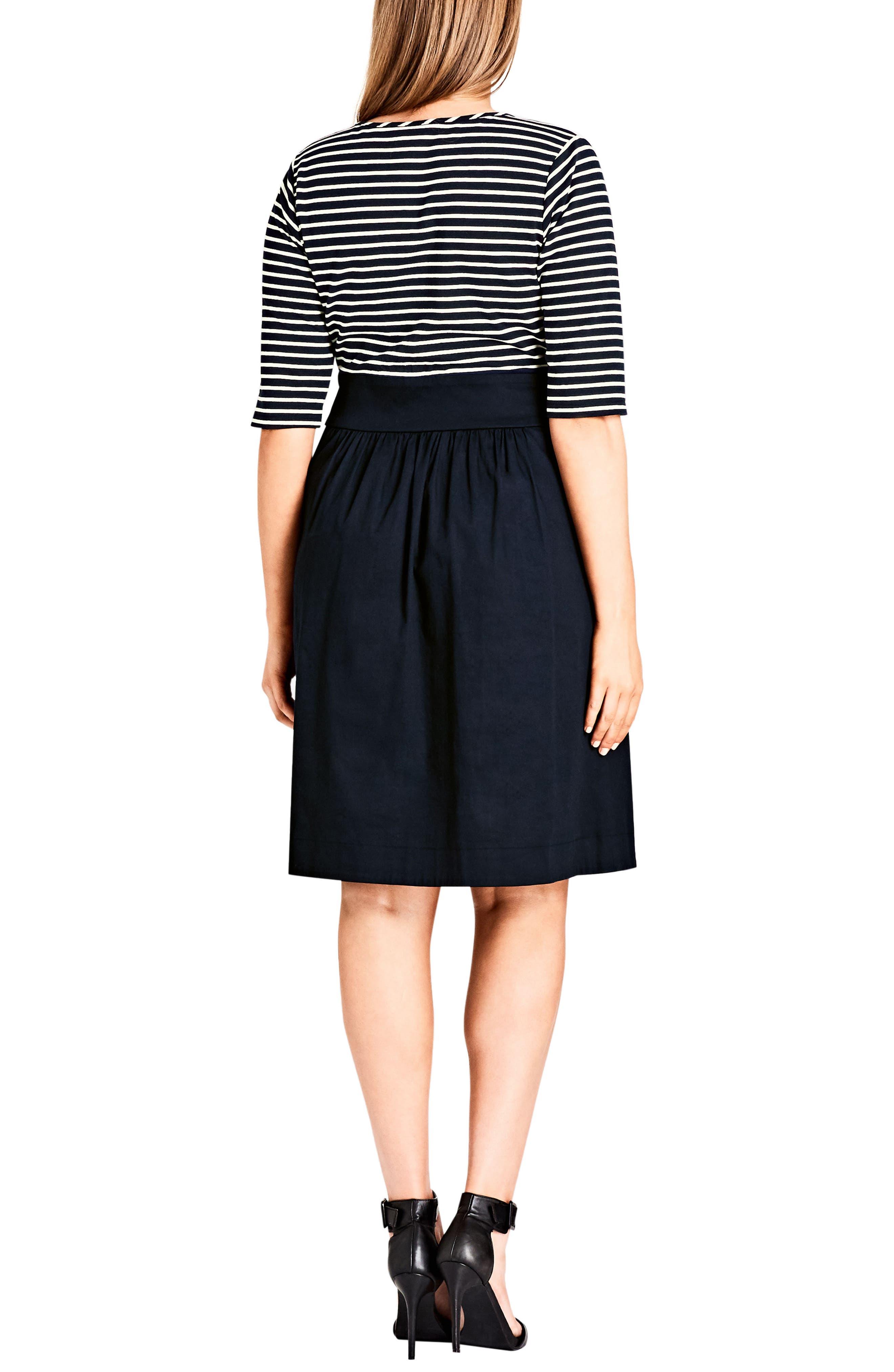 Ahoy Dress,                             Alternate thumbnail 2, color,                             406