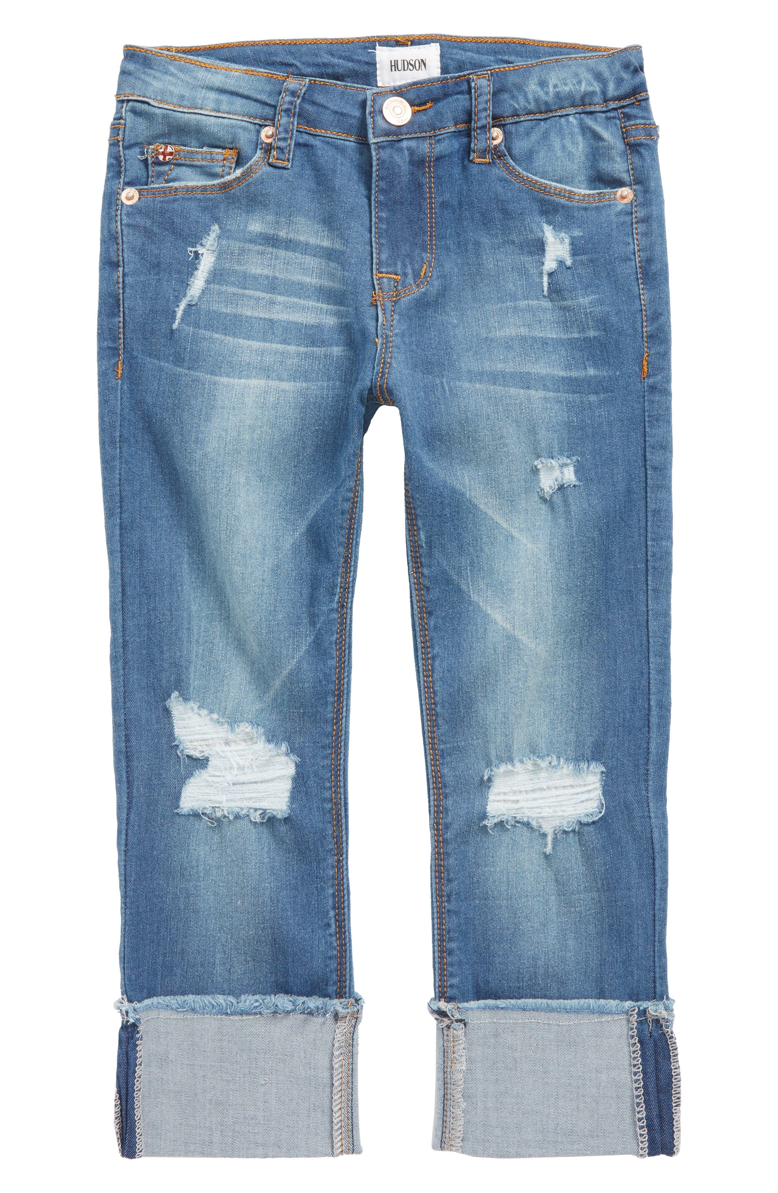 Jessa Crop Skinny Jeans,                             Main thumbnail 1, color,                             499