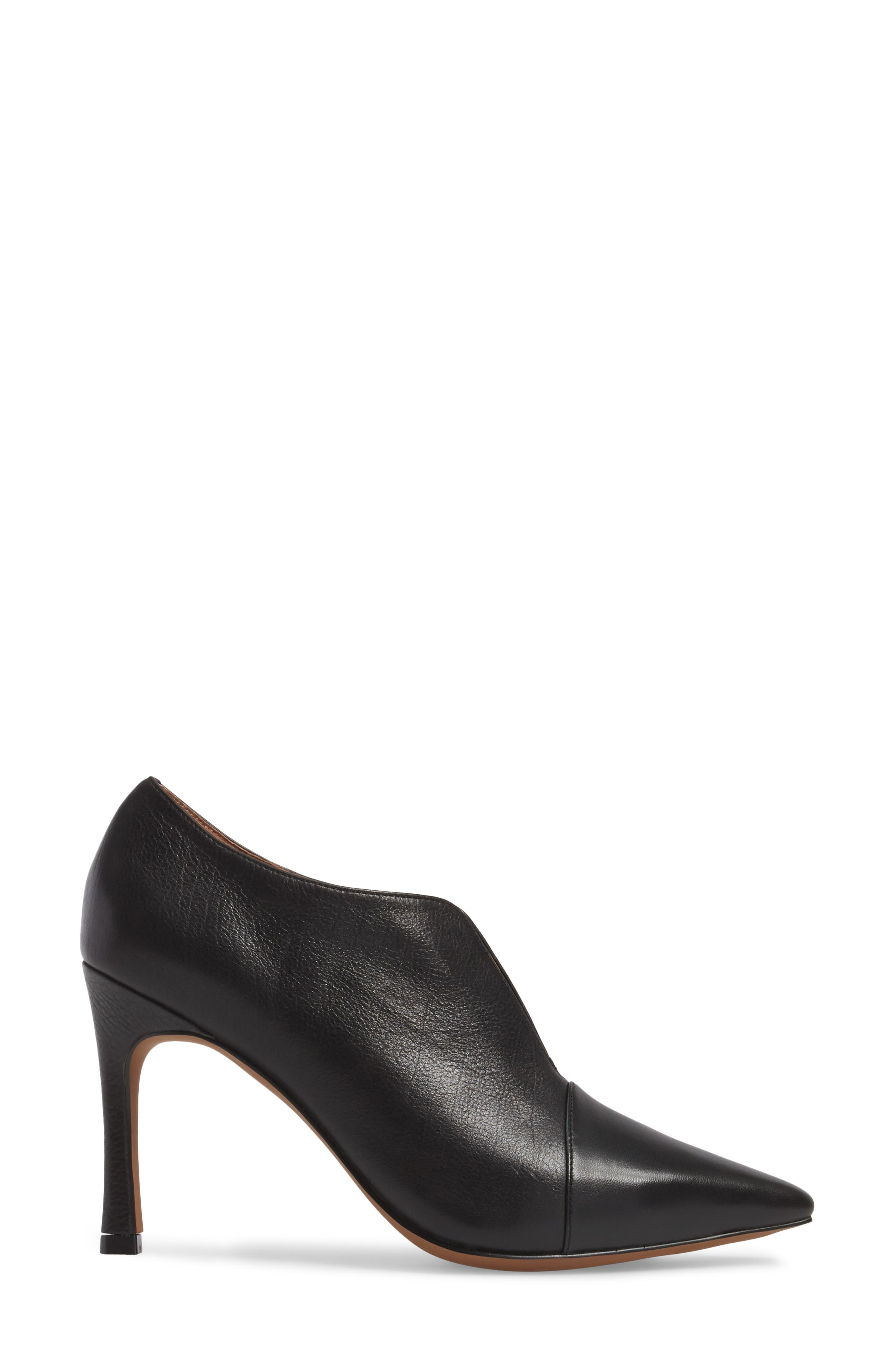Pointy Toe Bootie,                             Alternate thumbnail 3, color,                             009