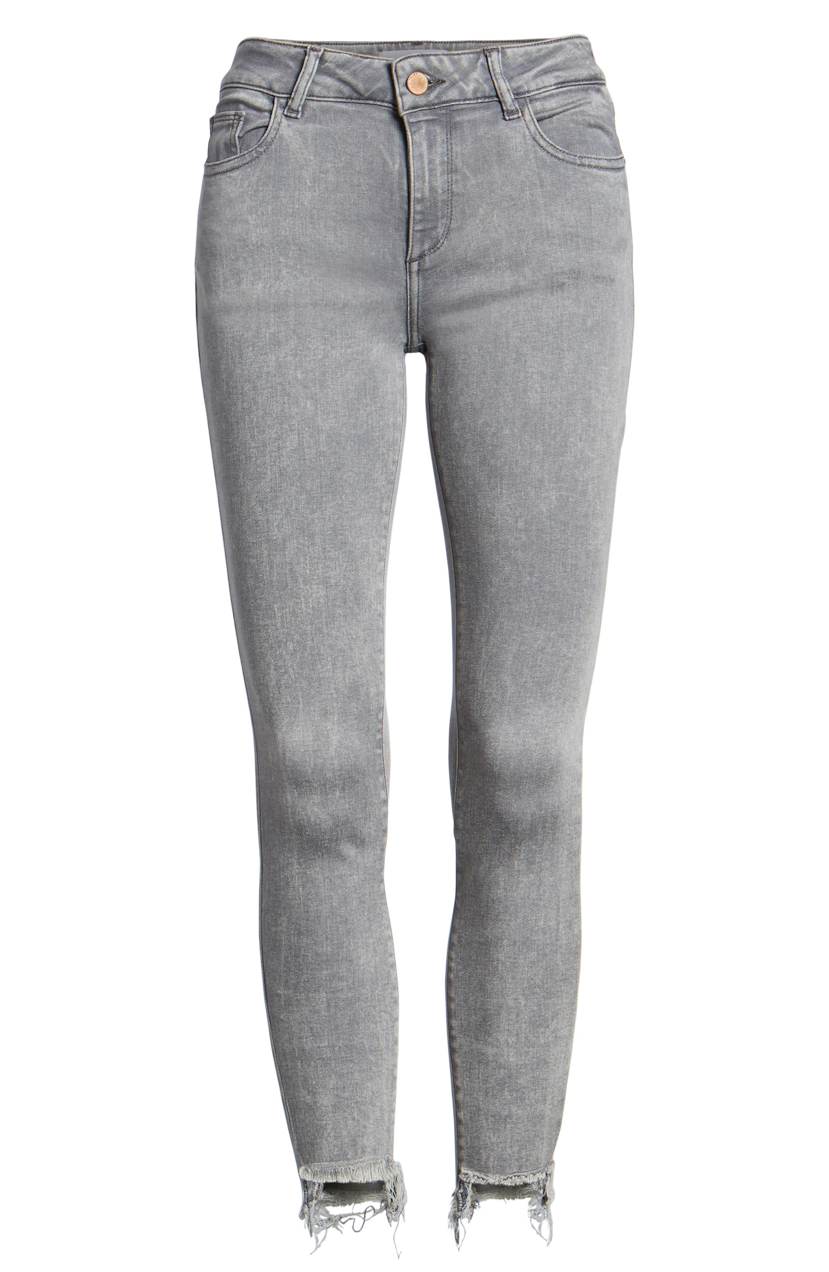 Florence Instasculpt Crop Skinny Jeans,                             Alternate thumbnail 7, color,                             430