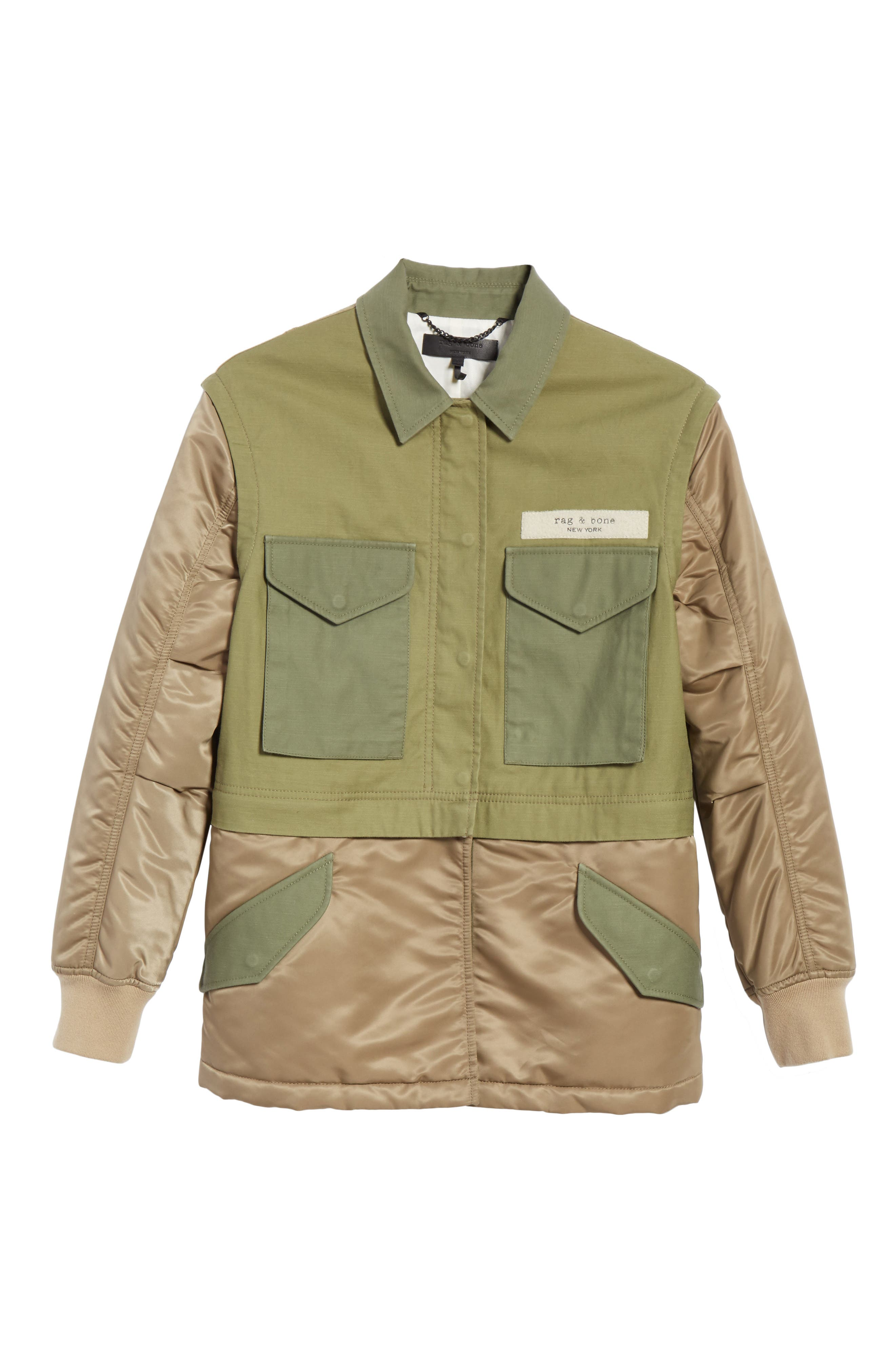 Modular Field Convertible Cotton Jacket,                             Alternate thumbnail 6, color,                             308