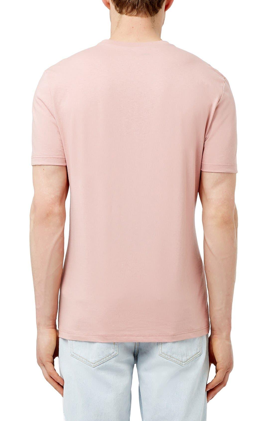 Slim Fit Crewneck T-Shirt,                             Alternate thumbnail 279, color,