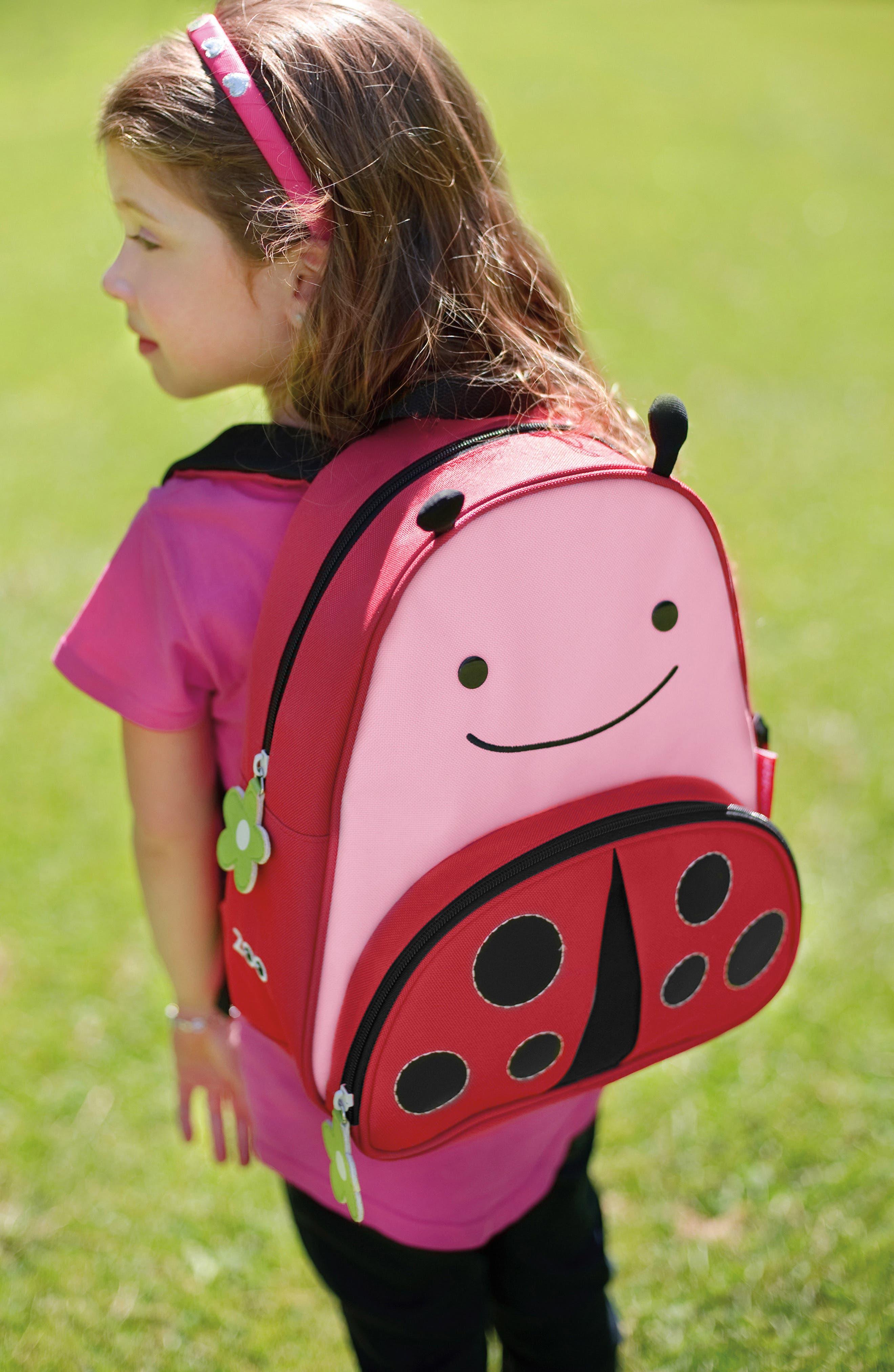 Ladybug Zoo Pack Backpack,                             Alternate thumbnail 6, color,                             651