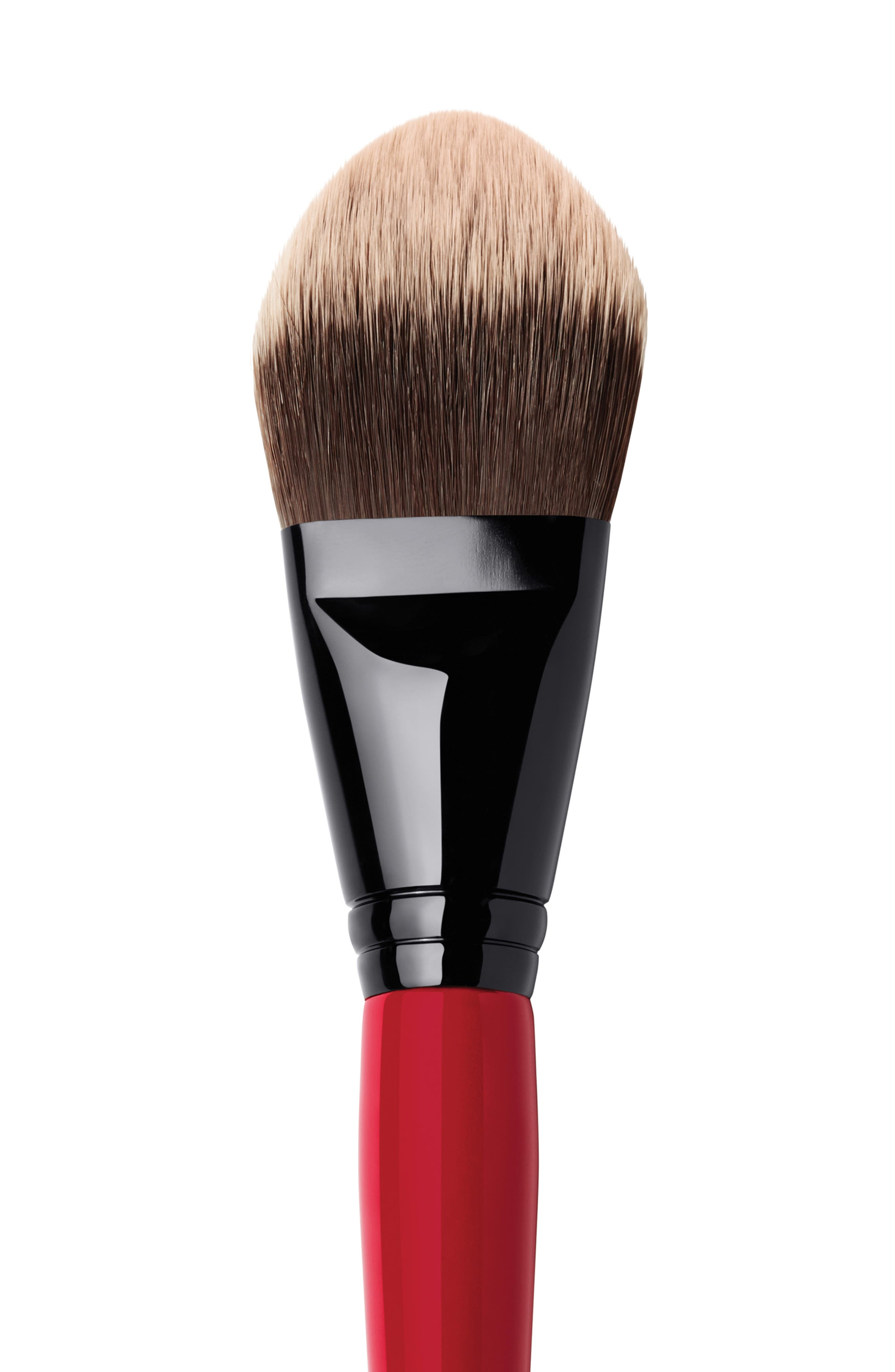 Sheer Foundation Brush,                             Alternate thumbnail 3, color,                             NO COLOR
