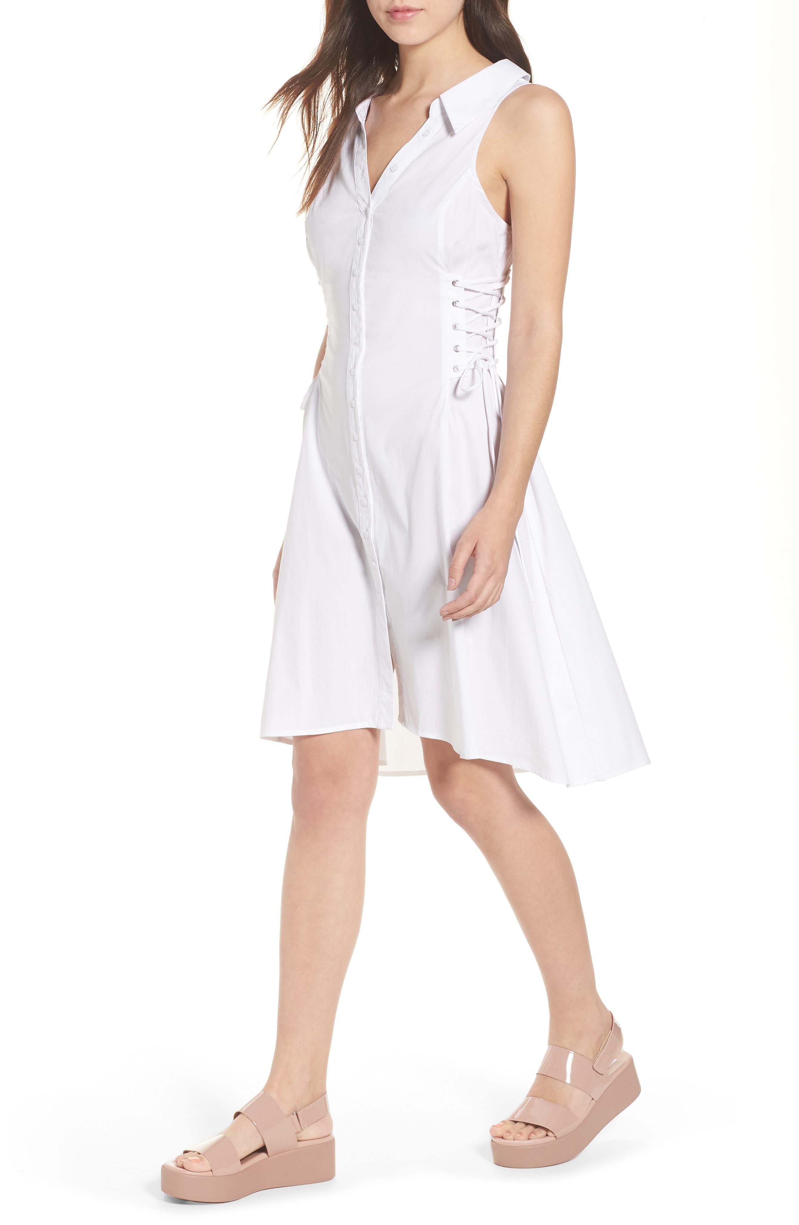 Sydney Lace Side Dress,                         Main,                         color,