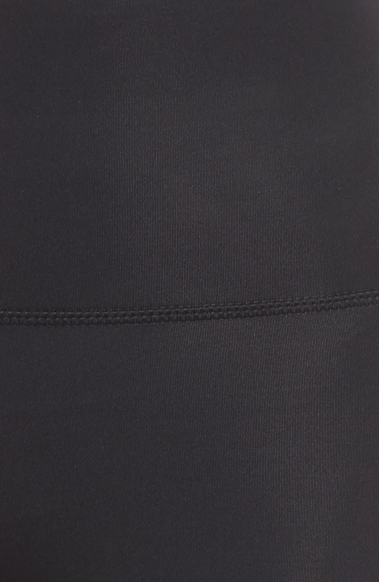 Third Eye Leggings,                             Alternate thumbnail 6, color,                             BLACK