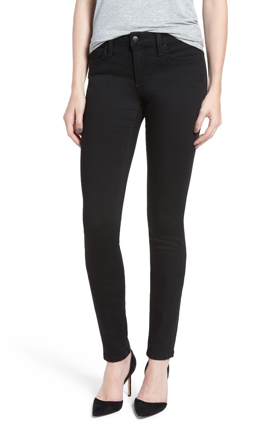 'Flawless - Twiggy' Skinny Jeans,                             Main thumbnail 1, color,                             REGAN