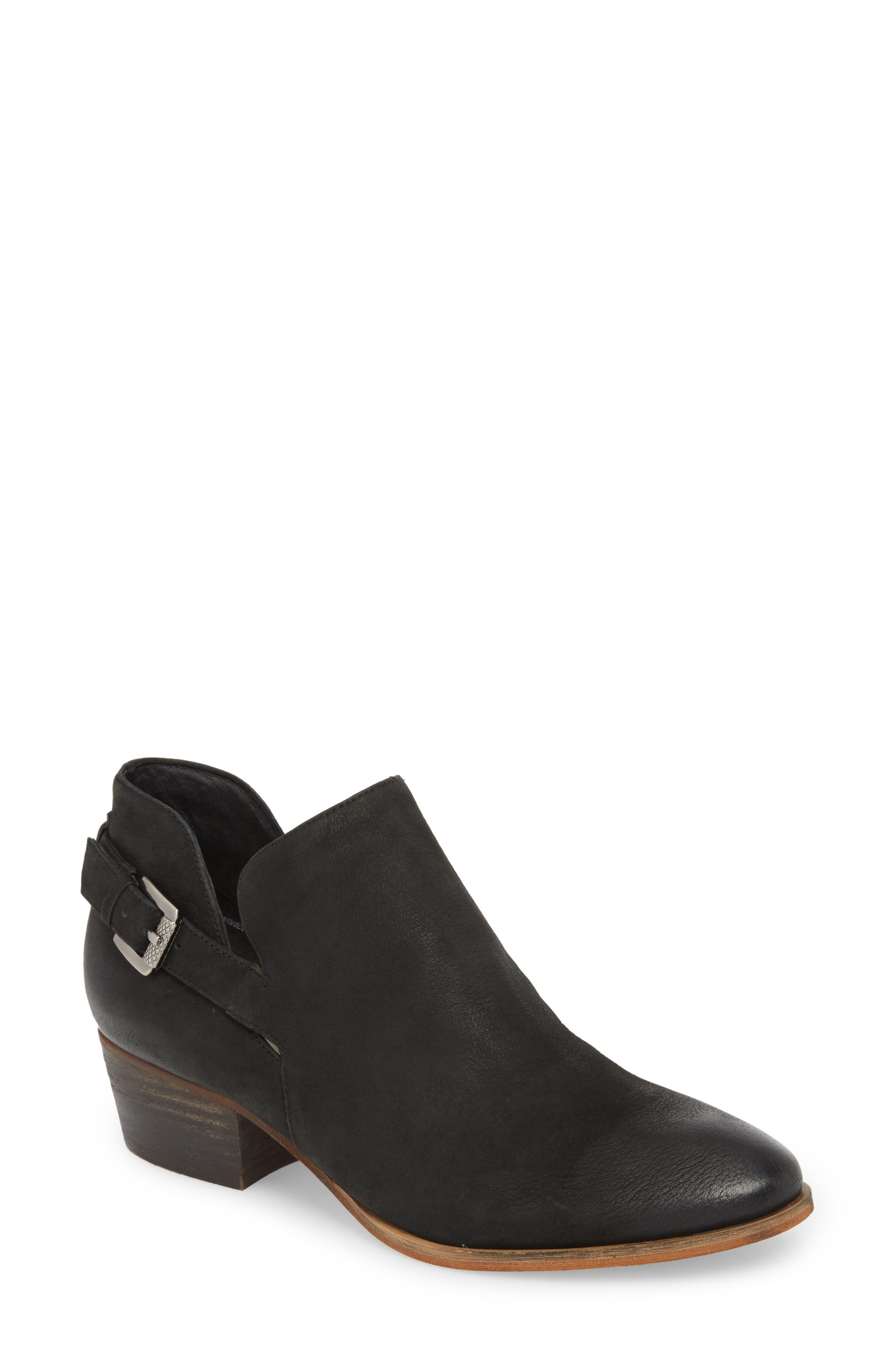 Toby Bootie,                             Main thumbnail 1, color,                             BLACK OILED NUBUCK