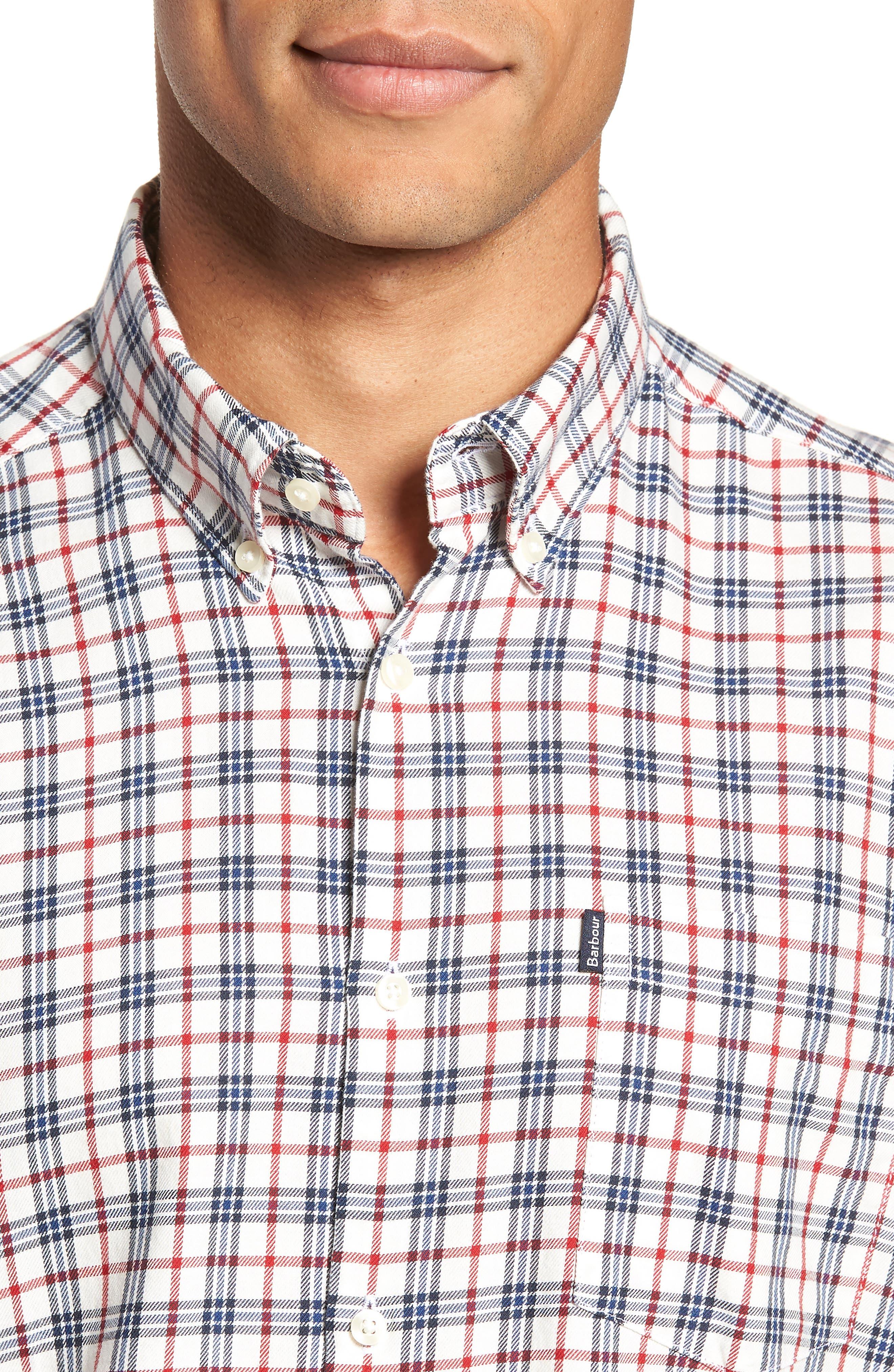 Stapleton Country Check Sport Shirt,                             Alternate thumbnail 2, color,                             100