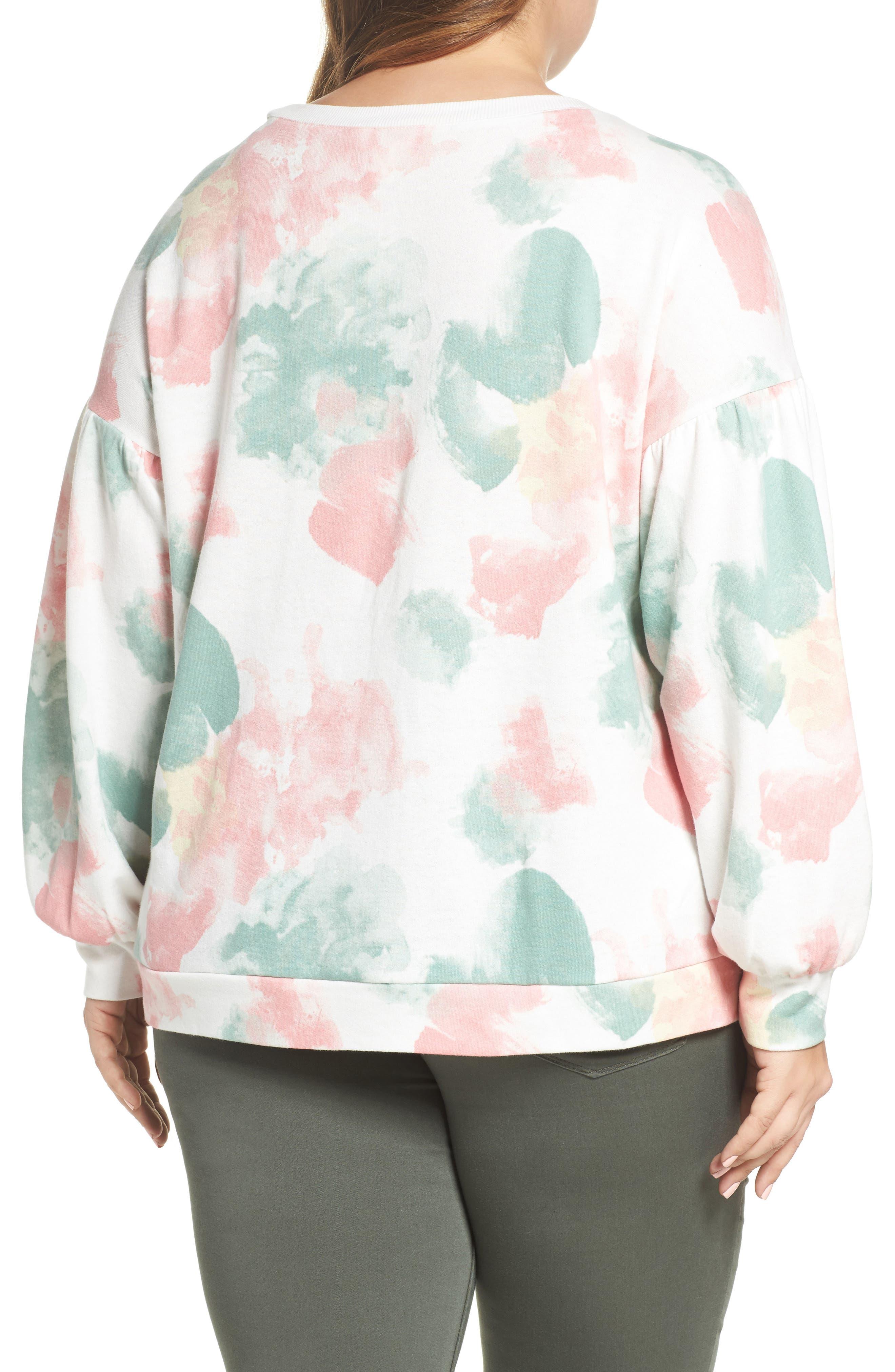 Blouson Sleeve Sweatshirt,                             Alternate thumbnail 2, color,                             900