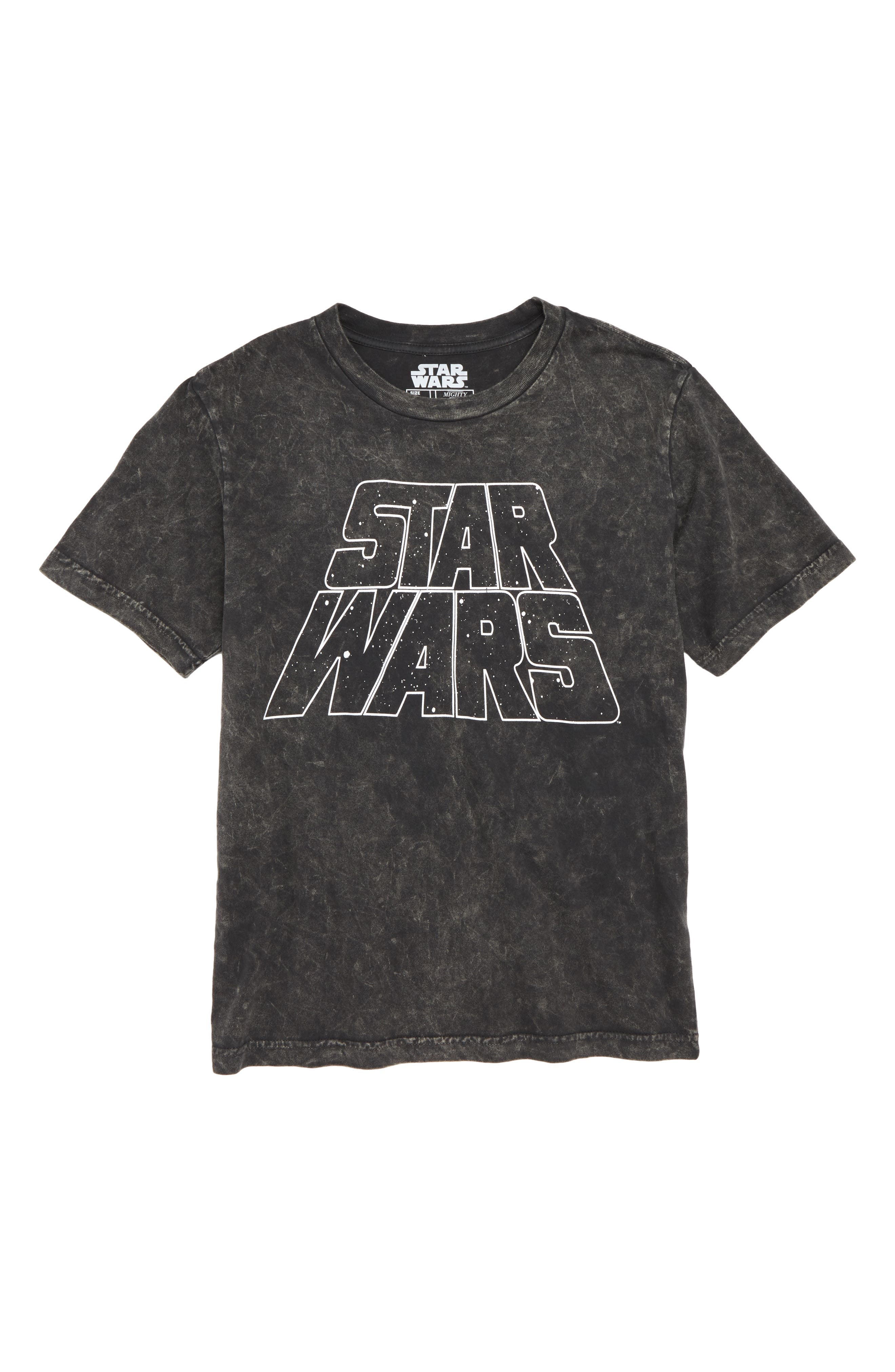 Star Wars<sup>™</sup> Graphic T-Shirt,                         Main,                         color, CHARCOAL WASHED