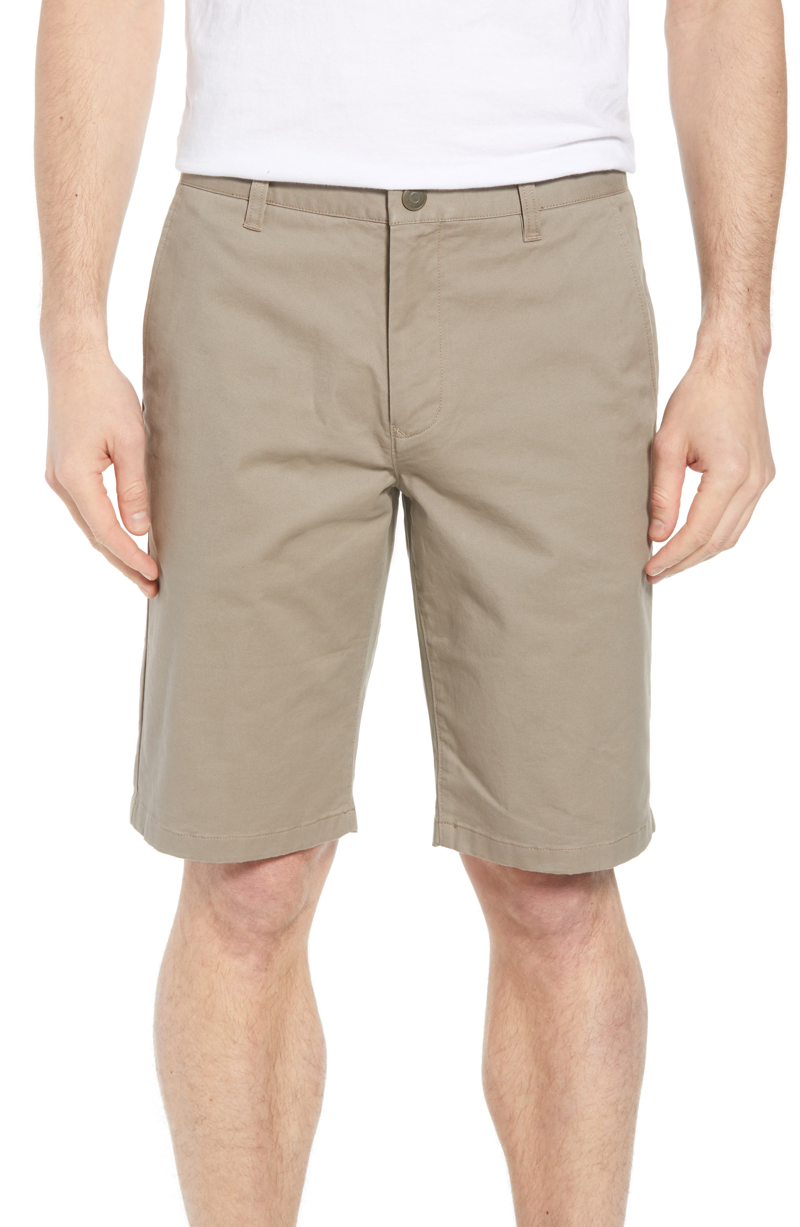 Stretch Washed Chino 11-Inch Shorts,                             Main thumbnail 1, color,